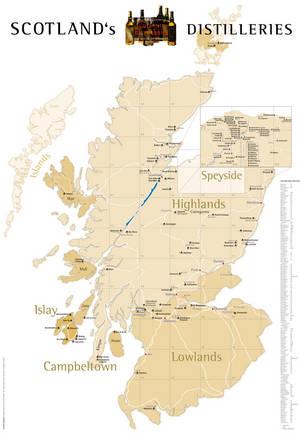 Schottland Karte Whisky.Scoma Scotch Malt Whisky Gmbh Der Erste Whiskey Versandhandel