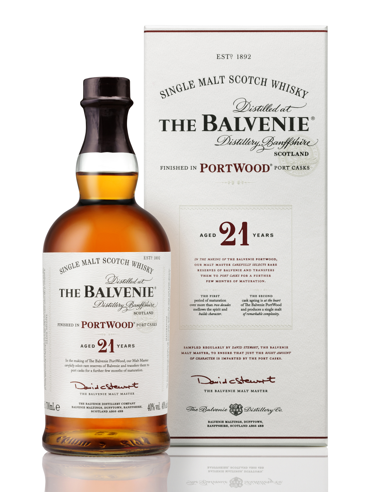 Balvenie 21 years Port Wood Fi...