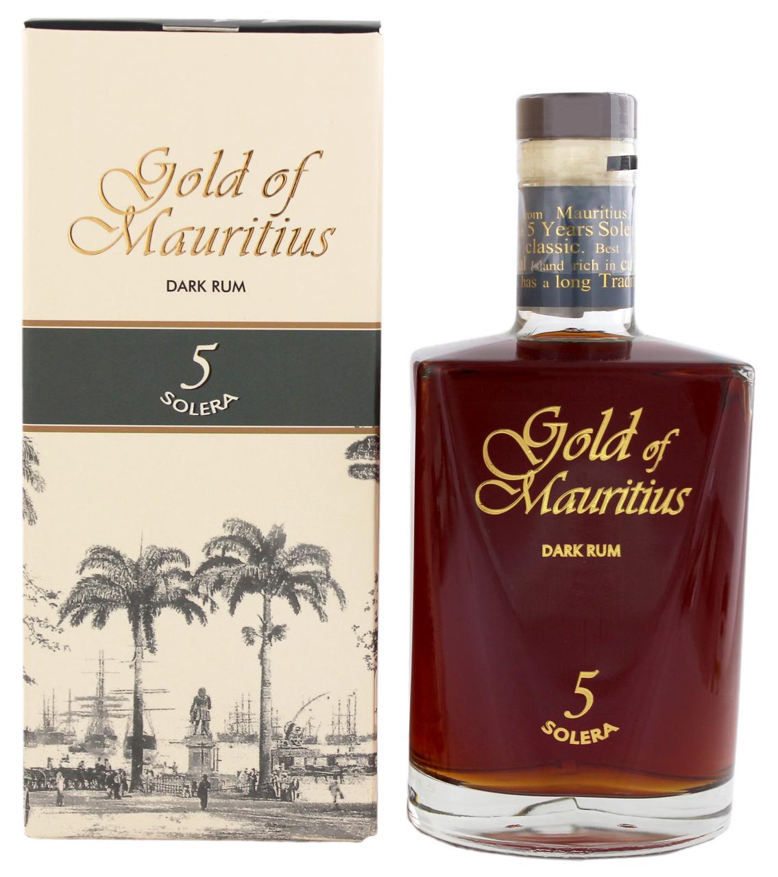 Gold of Mauritius Dark Rum 5 S...