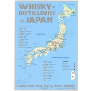 Tasting Map: Distilleries Japan