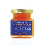 Orangengelee mit Glenfarclas 21 Jahre