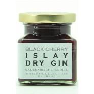 Sauerkirsche mit Islay Dry Gin