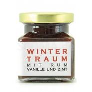 Marmelade Winterzauber mit Rum, Vanille und Zimt (160g)
