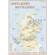 Tasting Map - Scotland's Distilleries