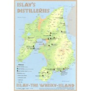 Tasting Map: Whisky Destilleries Islay