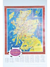 Pictural map of Scotch Whisky