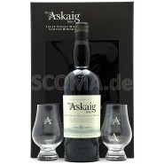 Port Askaig 8 years with 2 glasses