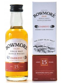Bowmore 15 years Darkest