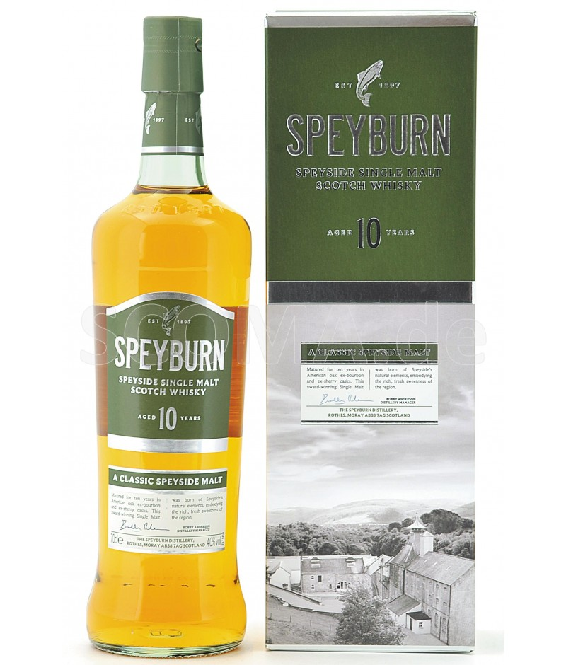 03ac9ca8f11 Speyburn 10 years - Onlineshop  SCOMA - Scotch Malt Whisky GmbH