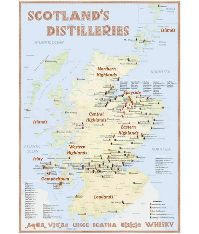 Scotland's Distillery map 70x100cm - Onlineshop: SCOMA ... on scotch regions and characteristics, whisky trail map, johnnie walker, irish whiskey, canadian whisky map, scotch tasting chart, tequila map, scotch whiskey glasses, american whisky map, tennessee whiskey, coffee map, single malt whisky, fruit map, jim beam, scotch graph, scotch whiskey history and maps, scotch flavour chart, bourbon map, bourbon whiskey, japanese whisky map, single malt scotch whisky, single malt map, rye whiskey, wine map, scotch flavors, scotland whisky map,
