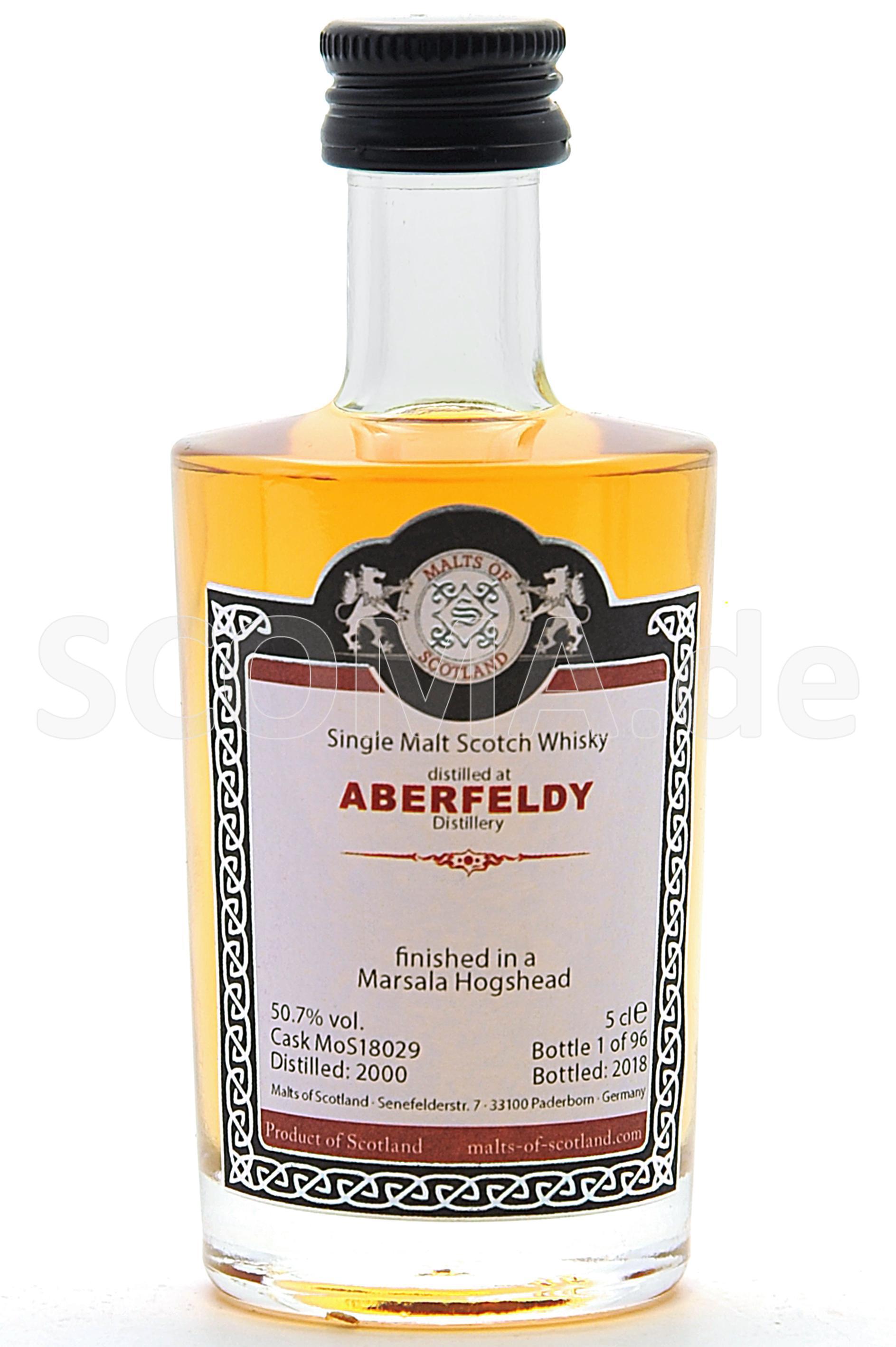 Aberfeldy 2000/2018 Marsala Fi...