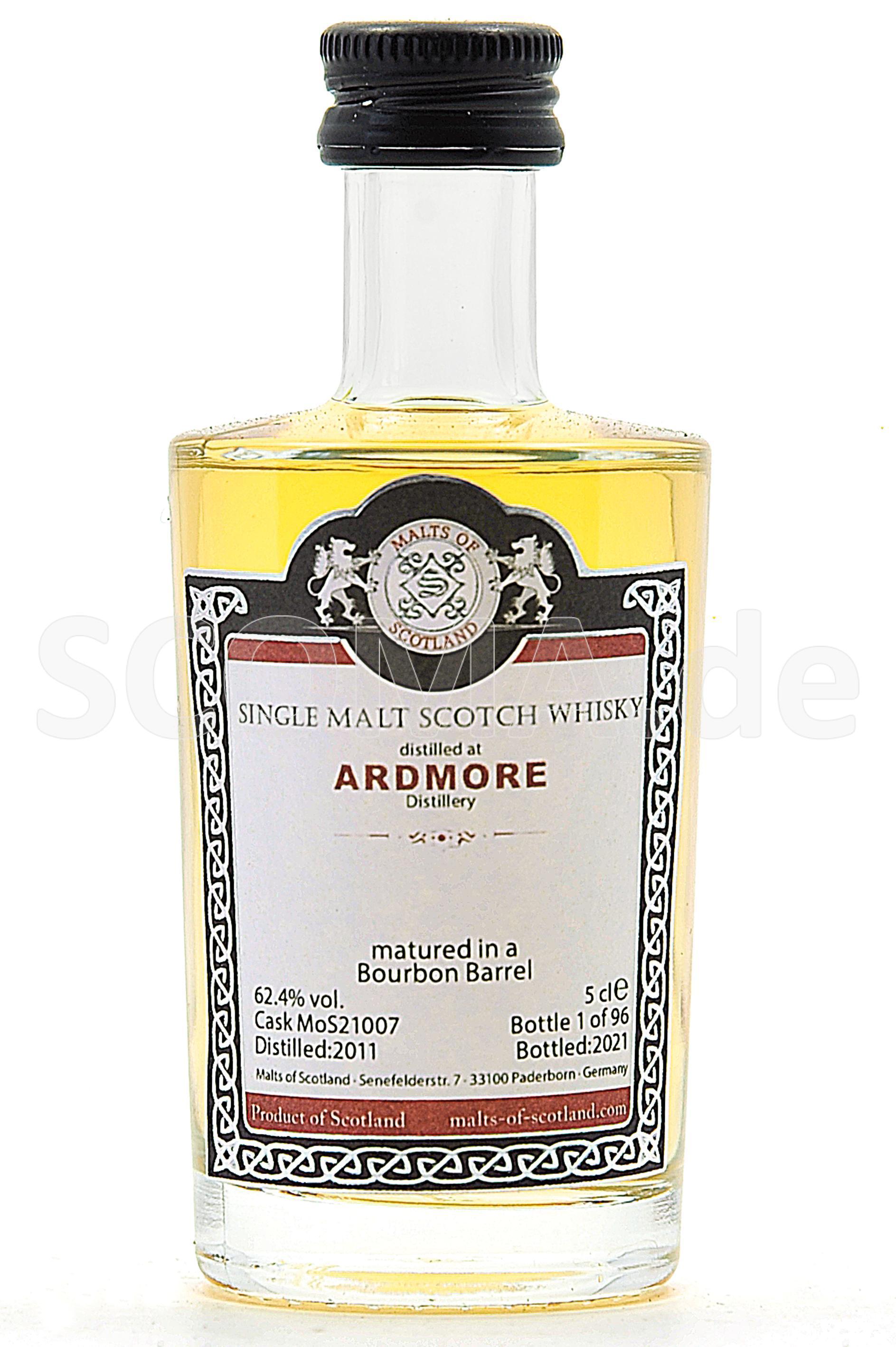 Ardmore 2011/2021 Bourbon Barr...