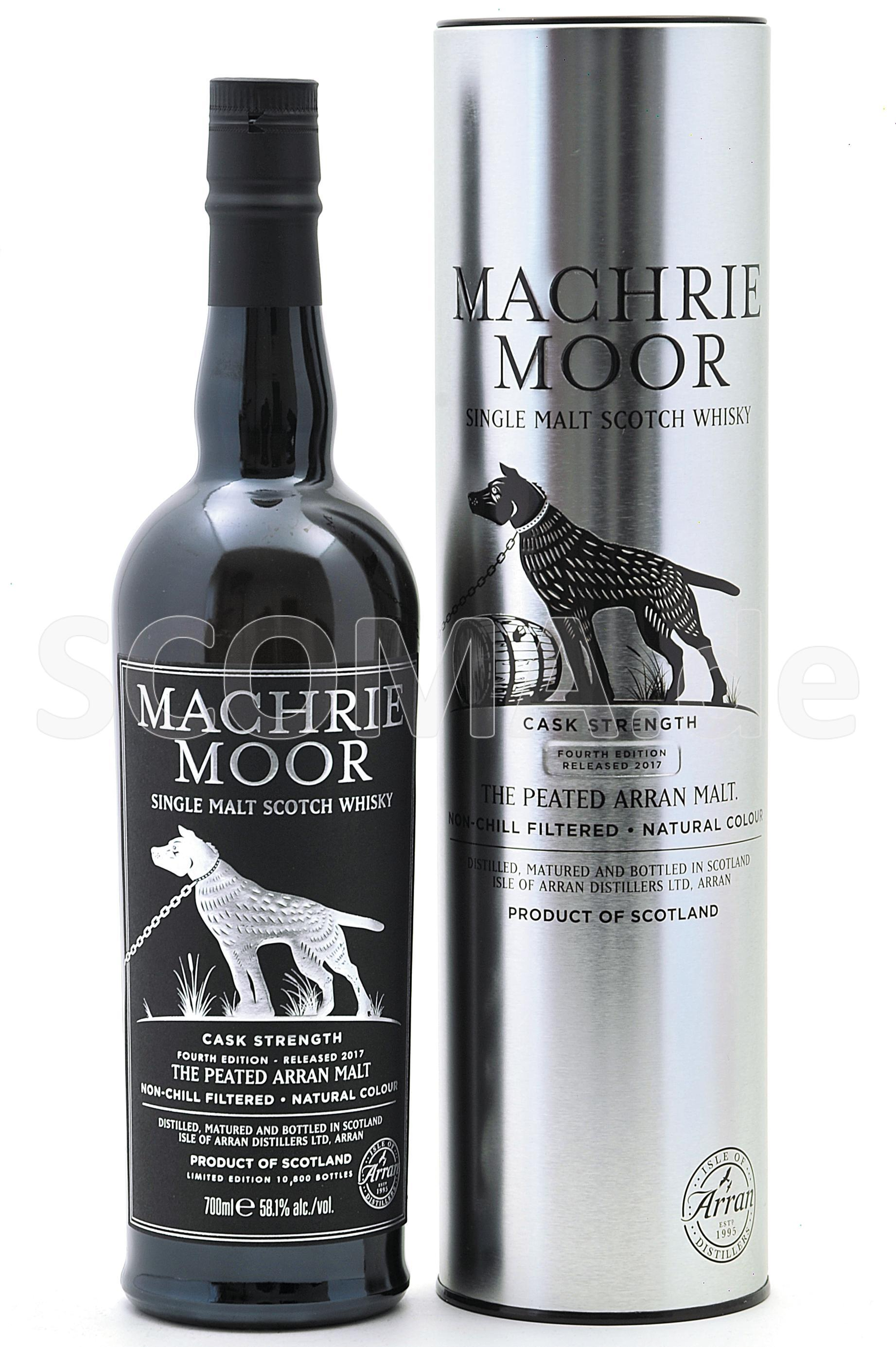 Arran Machrie Moor Peated - Ba...