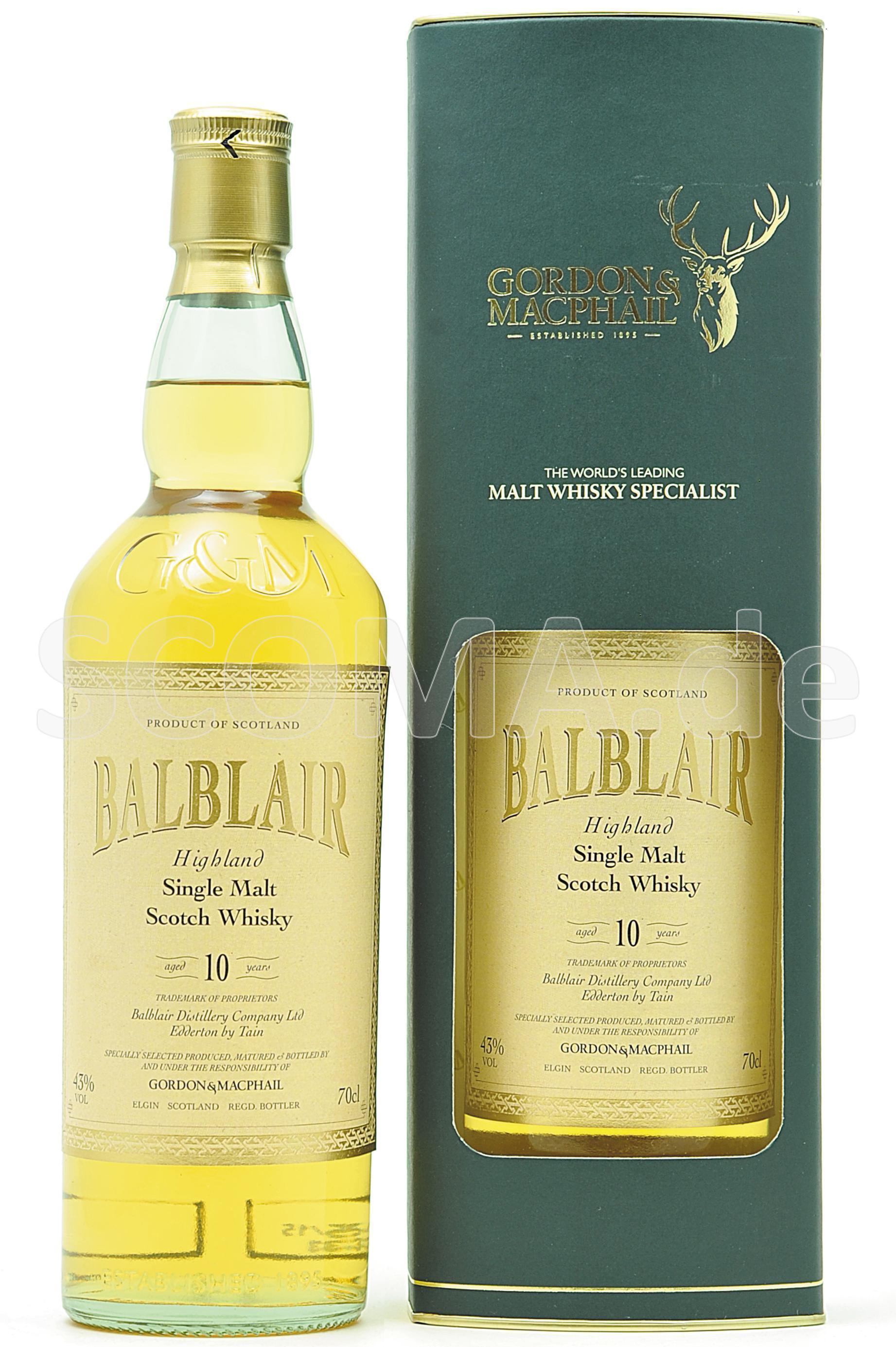 Balblair 10 years