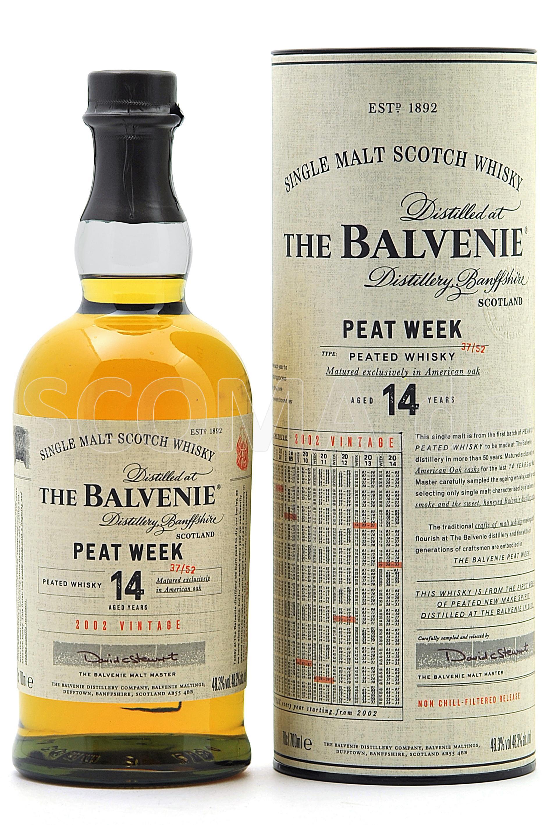 Balvenie Peat Week 14 Jahre