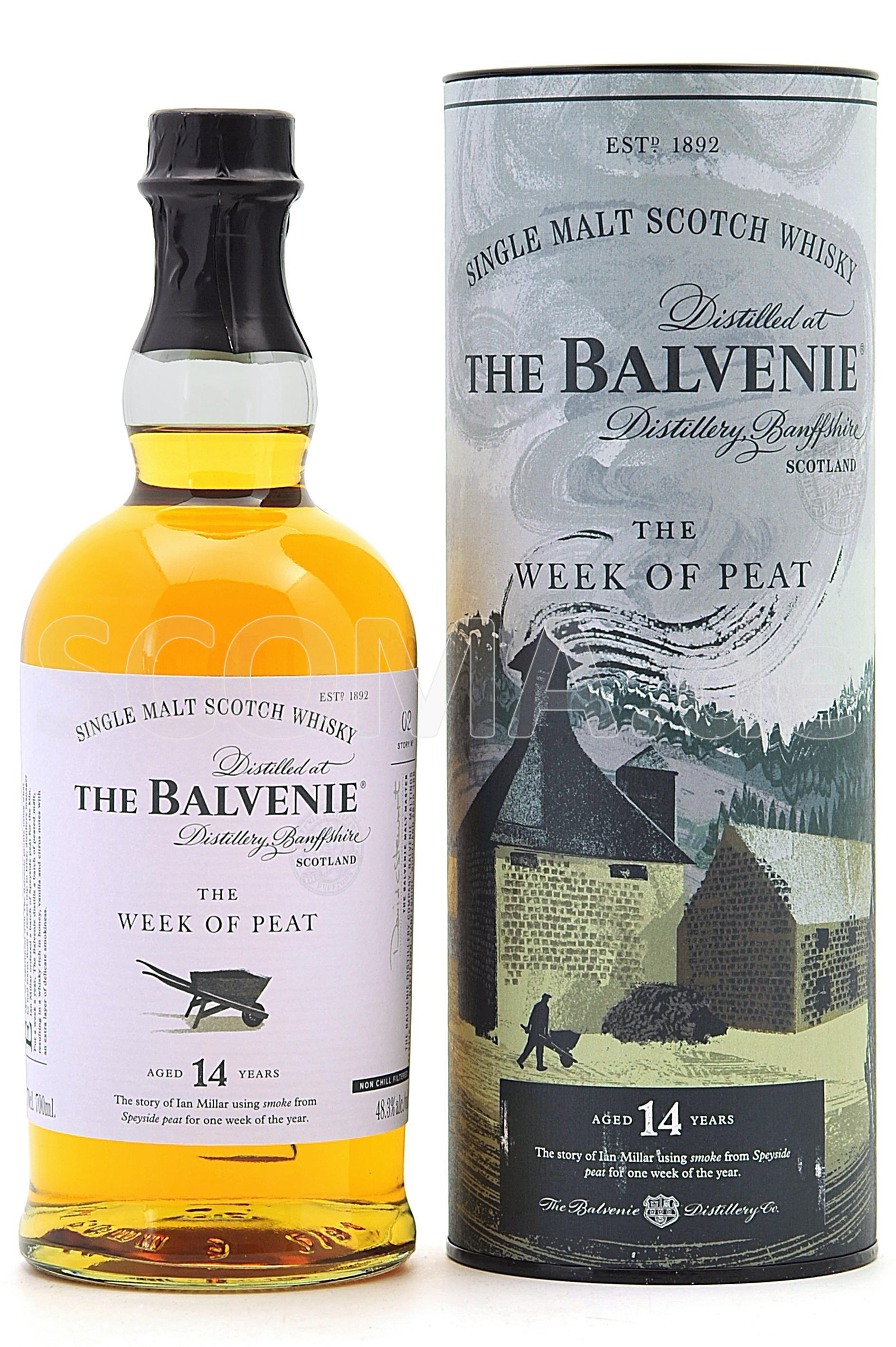 Balvenie The Week of Peat 14 y...