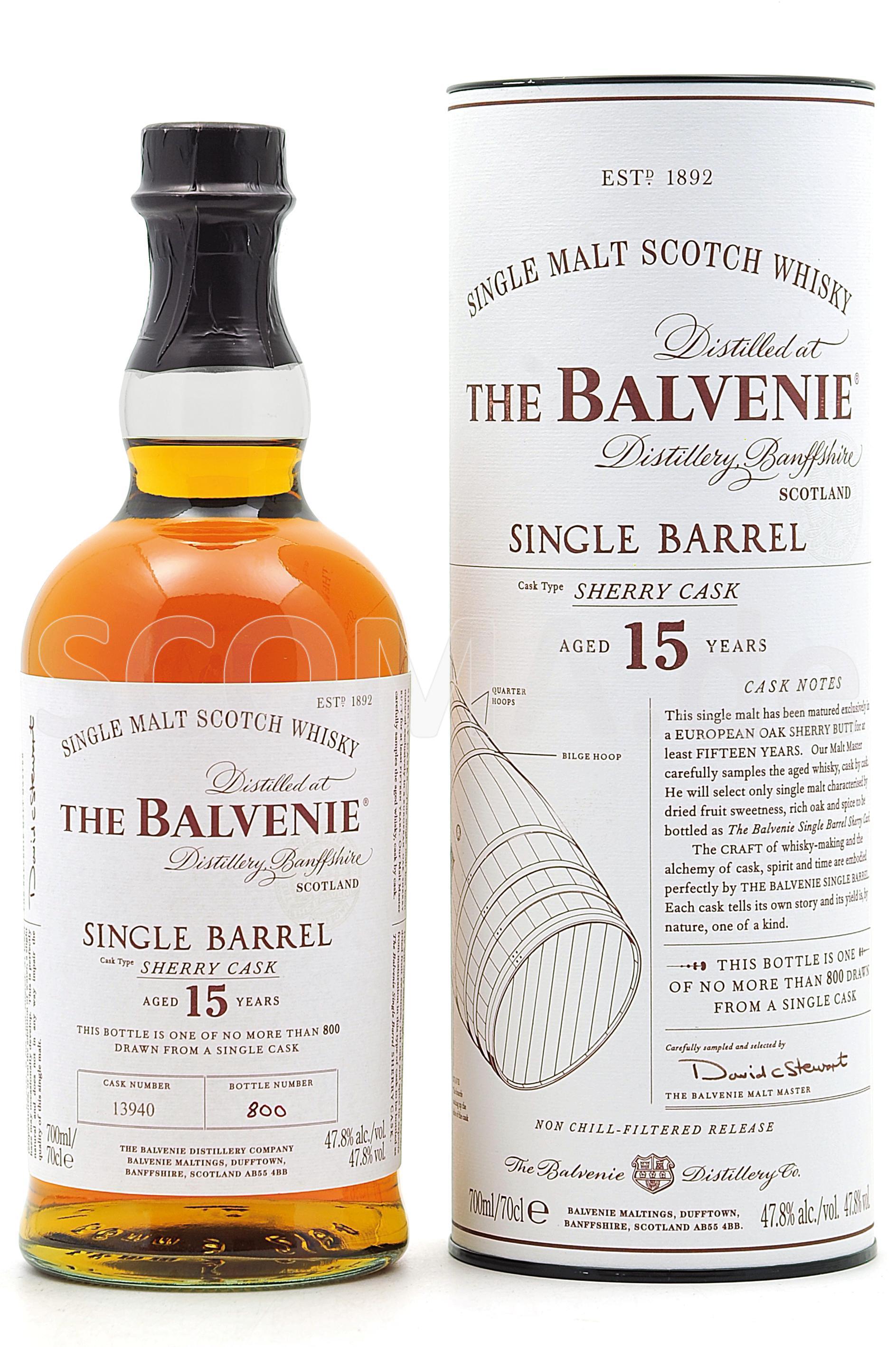 Balvenie Single Barrel 15 Jahr...