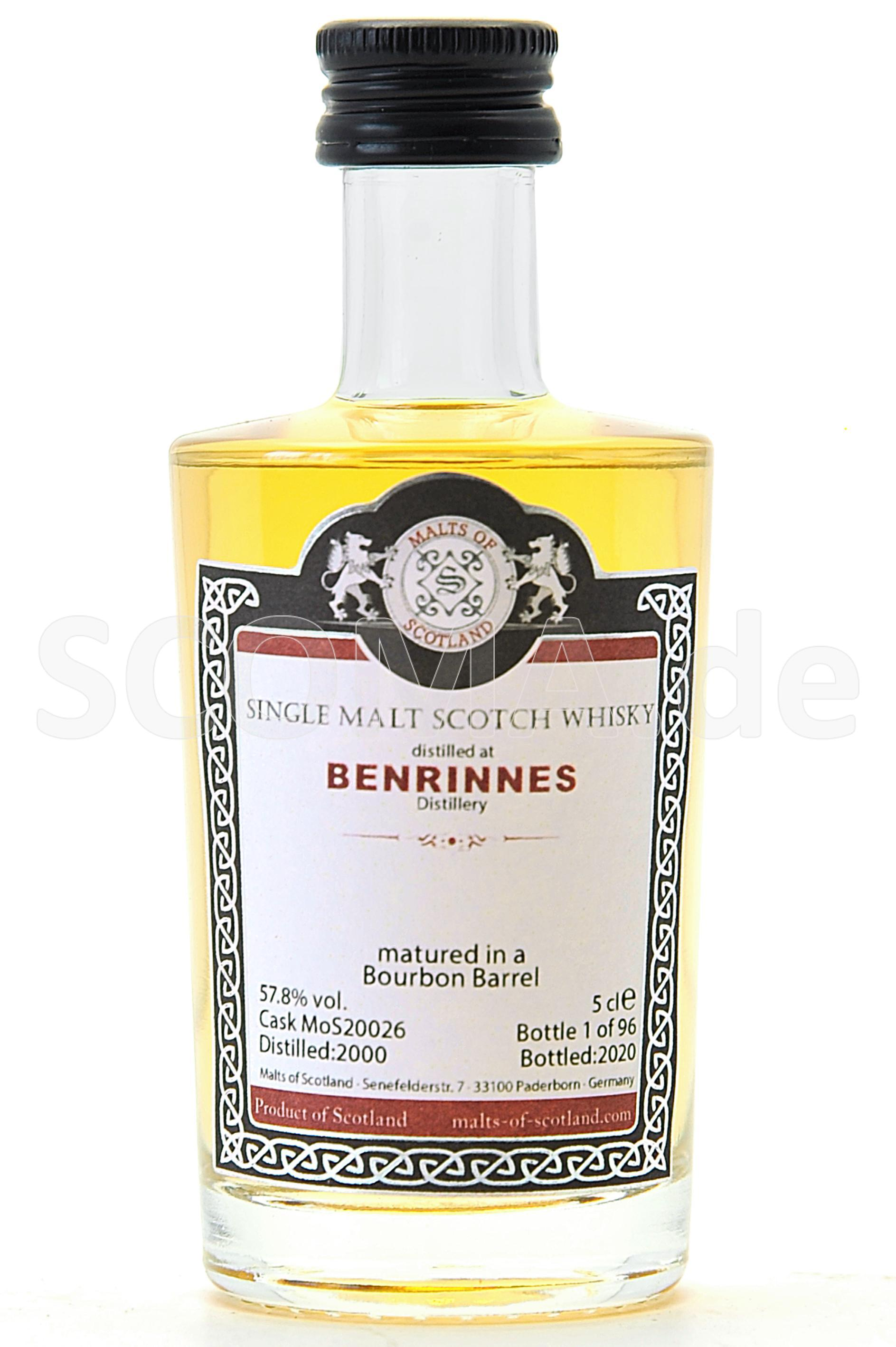 Benrinnes 2000/2020 Bourbon Ba...