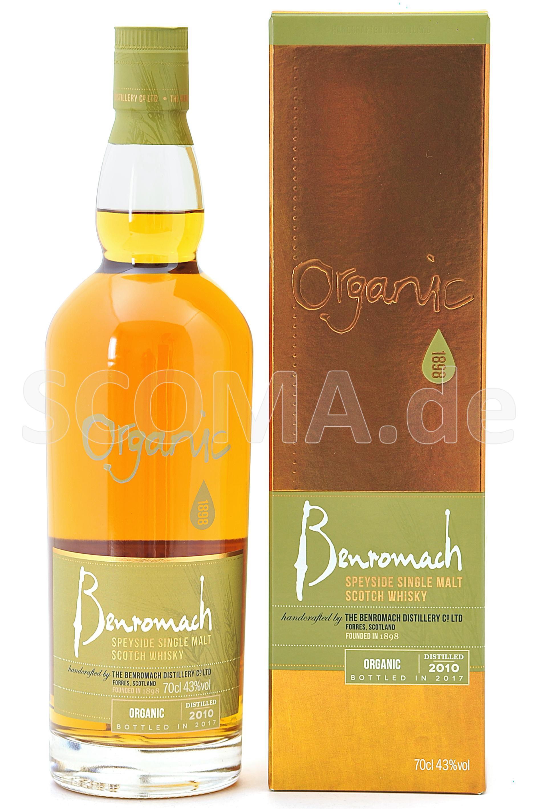 Benromach 2010/2017 Organic