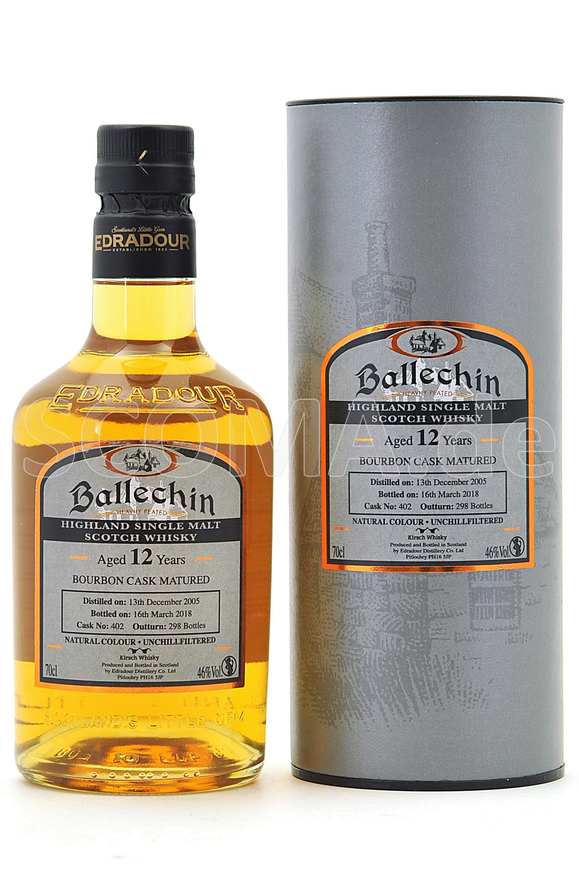 Ballechin Bourbon Cask 2005 12...