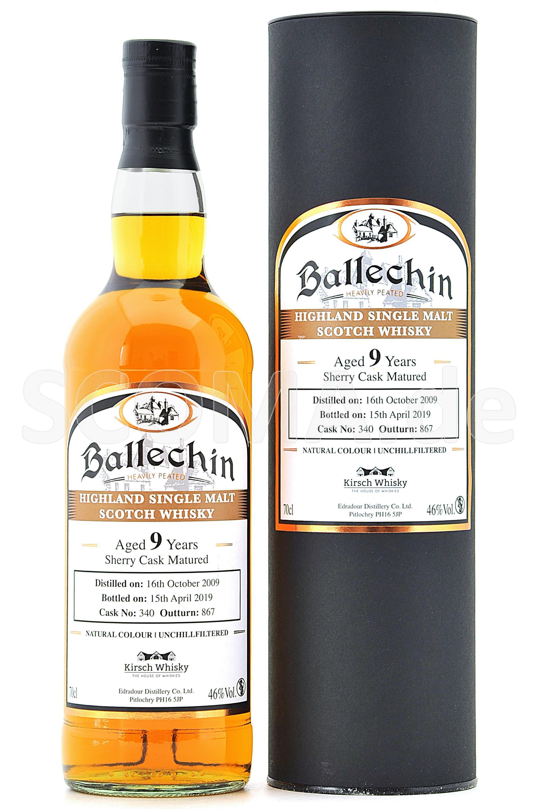 Ballechin 2009/2019 9 years