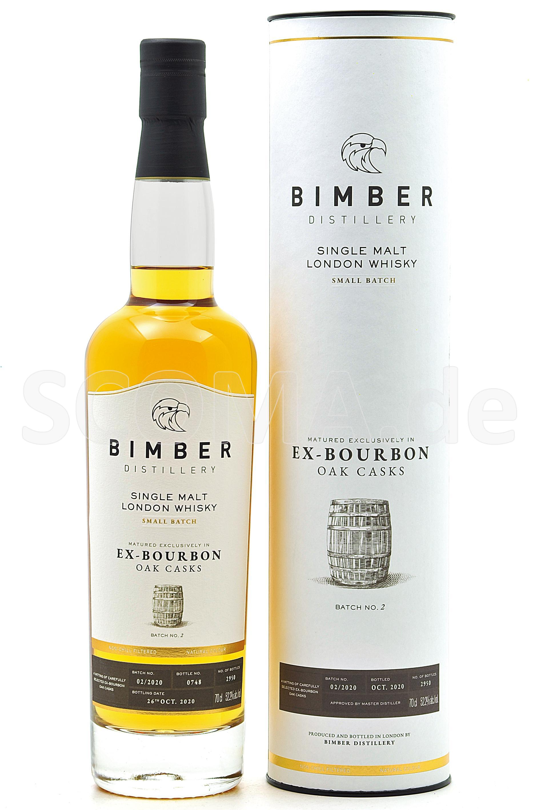 Bimber ex-Bourbon Oak Casks Ba...