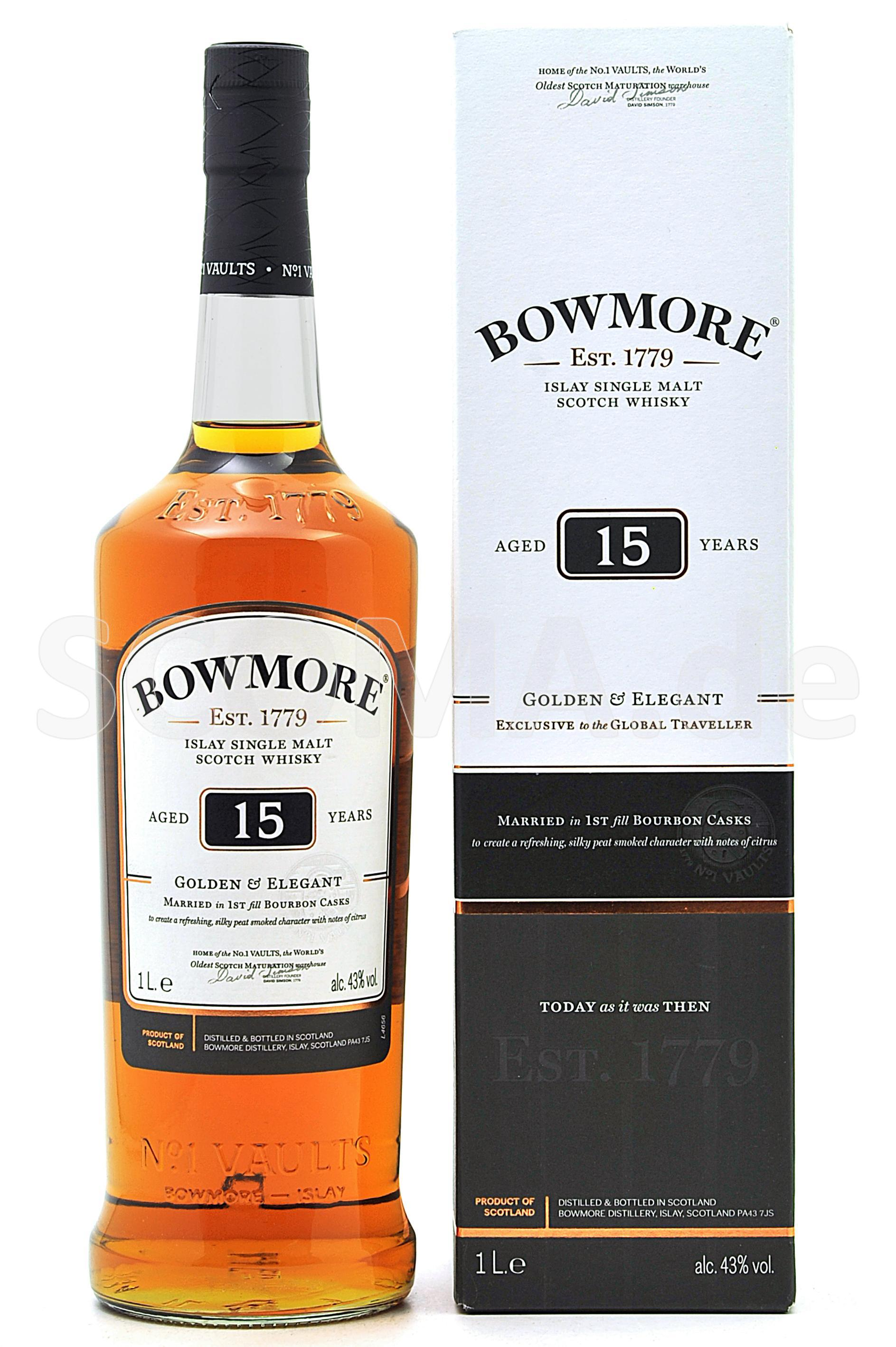 Bowmore 15 years Golden & Inte...