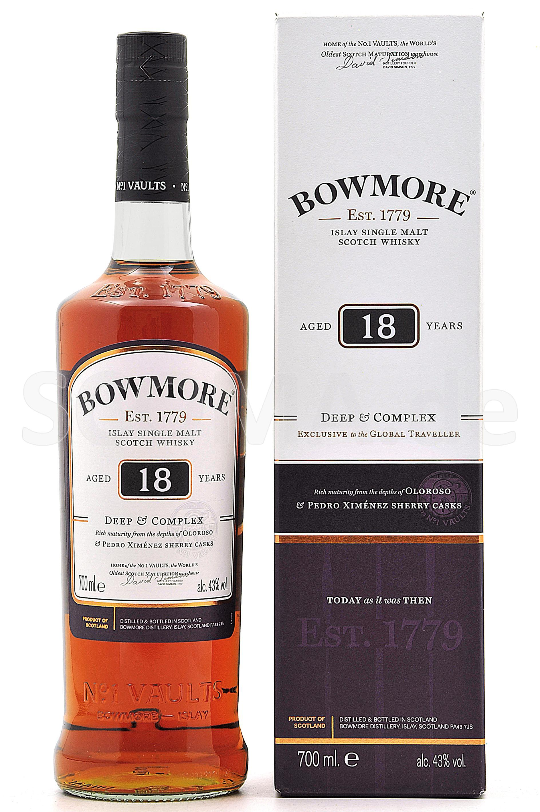 Bowmore 18 Jahre Deep & Comple...