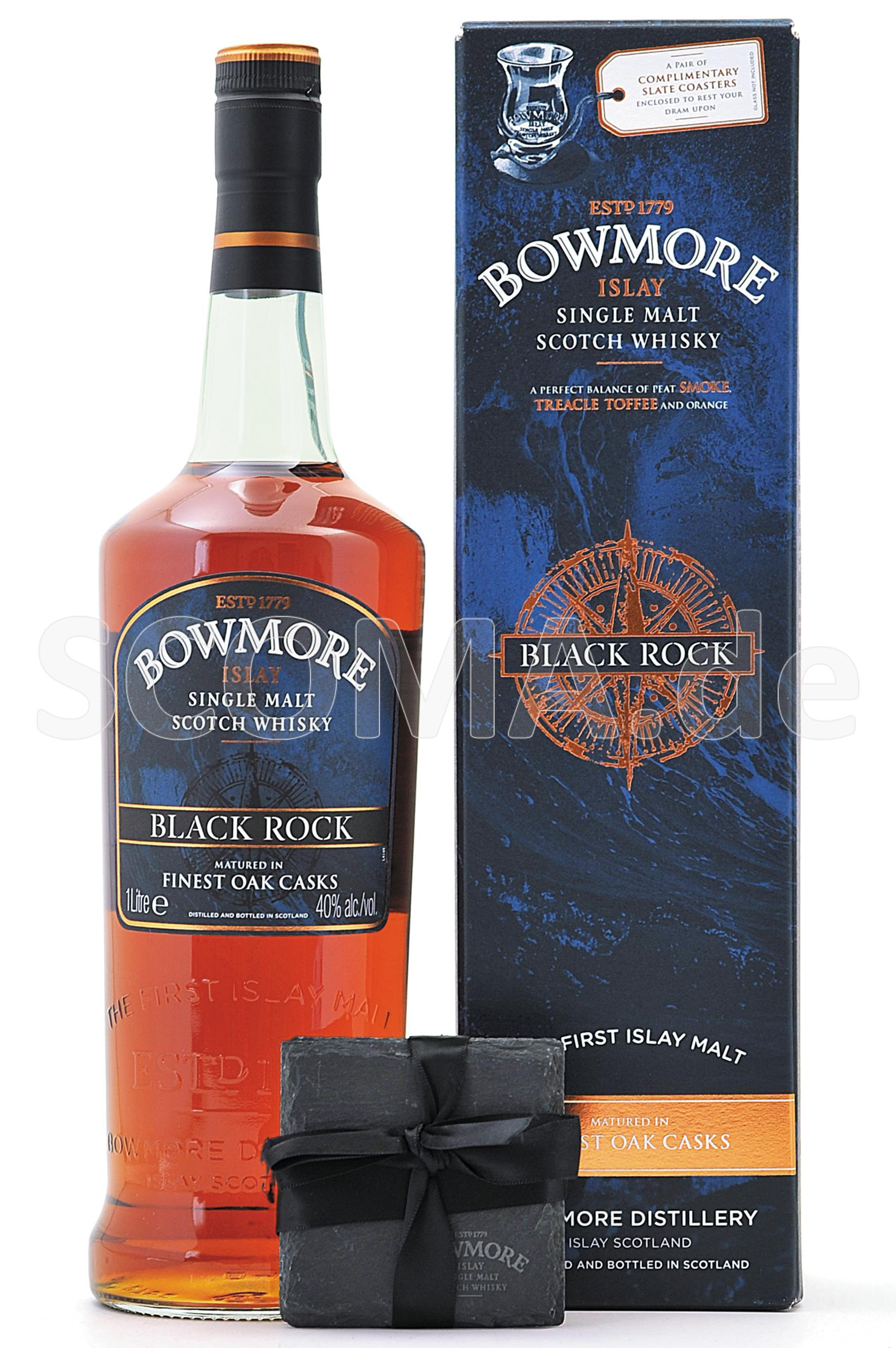Bowmore Black Rock with slate ...