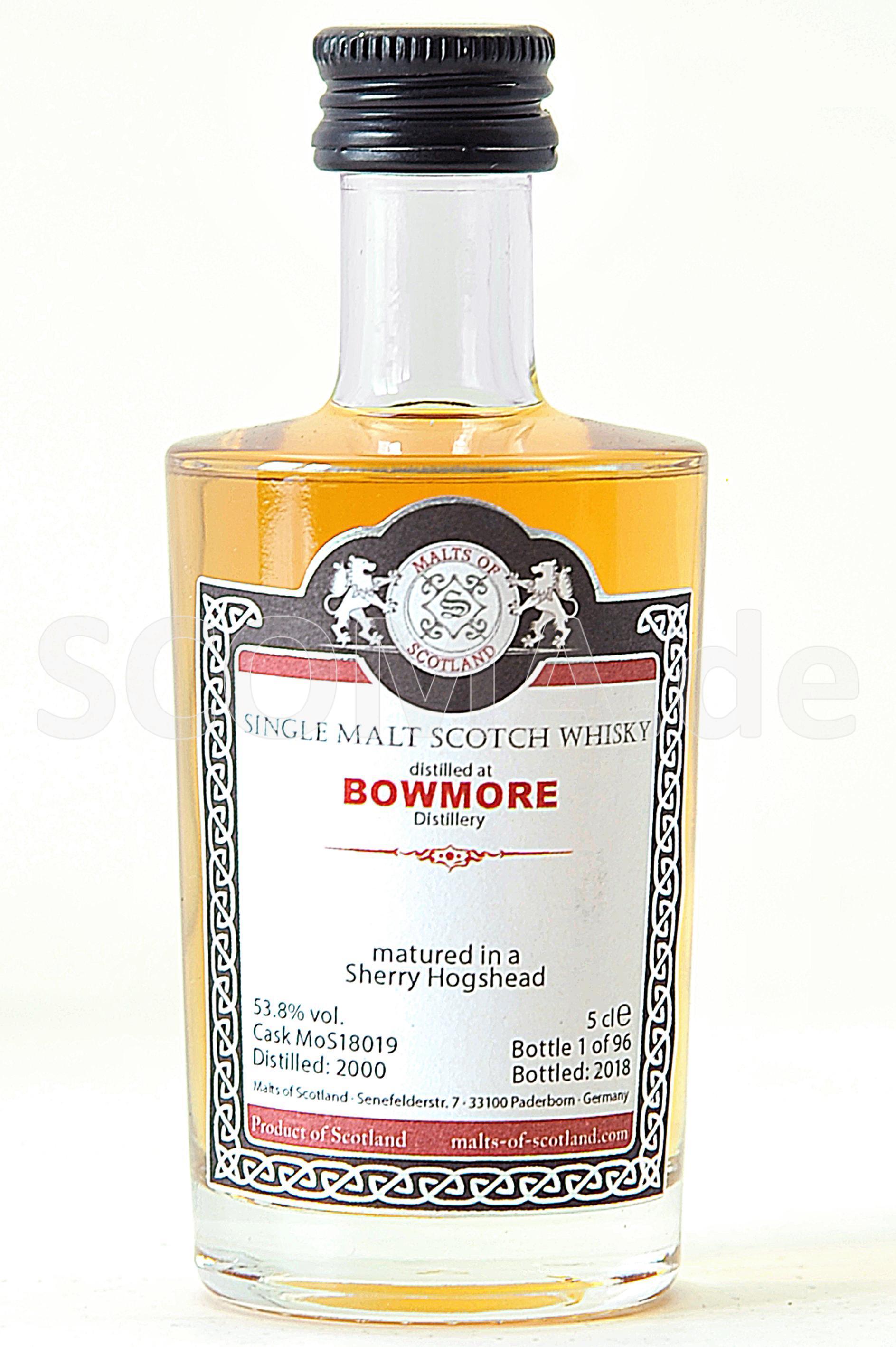 Bowmore 2000/2018 Sherry Cask