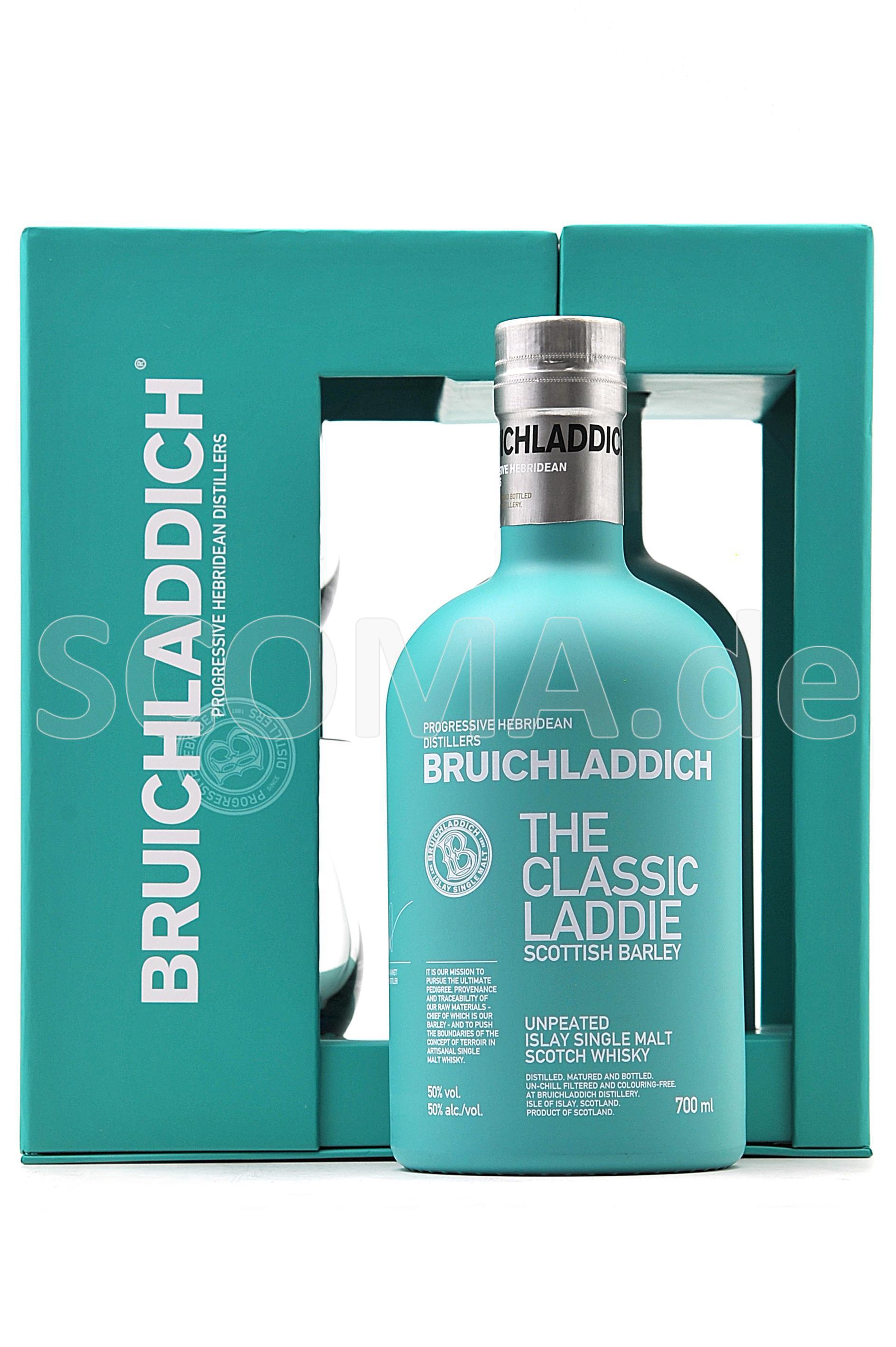Bruichladdich Scottish Barley ...