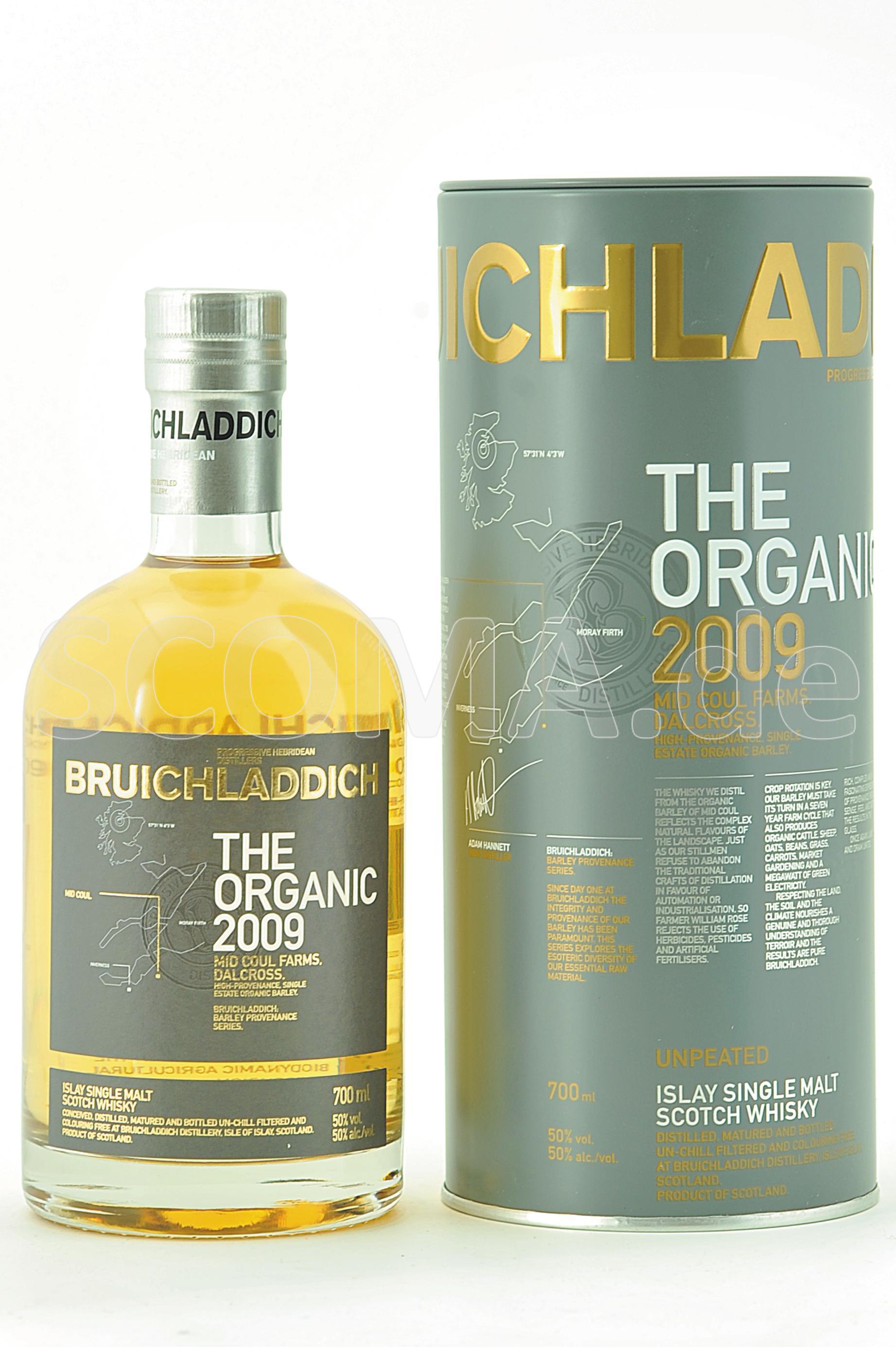 Bruichladdich 2009 The Organic