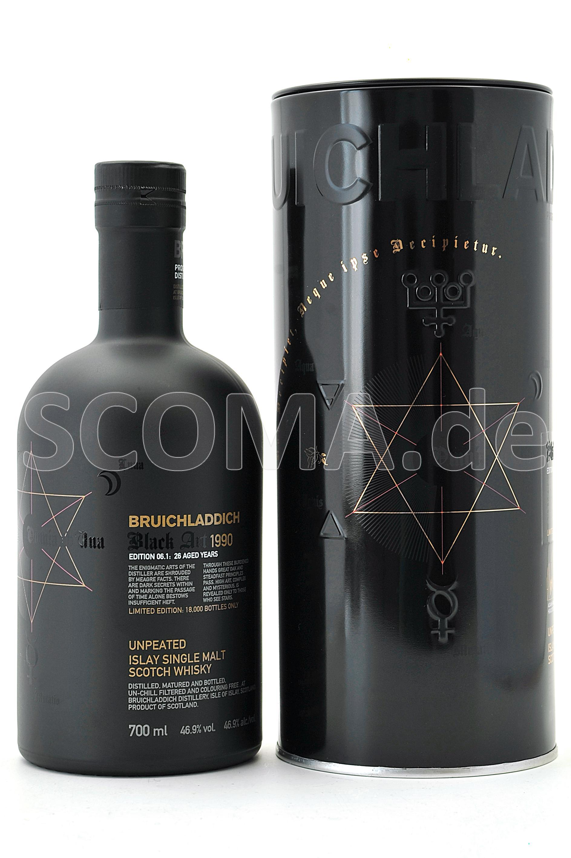 Bruichladdich Black Art 1990 /...