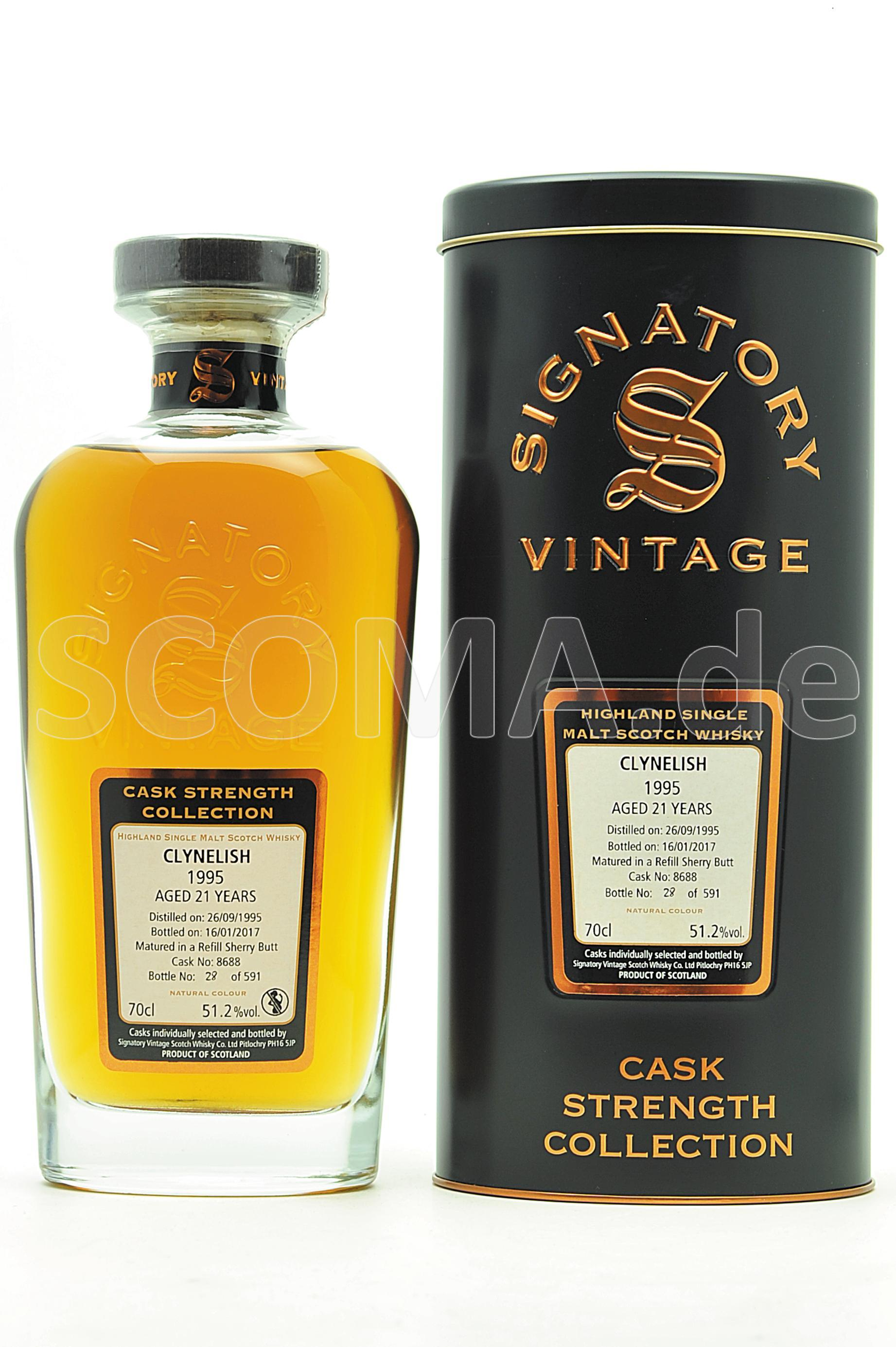Clynelish Cask strength 1995/2...