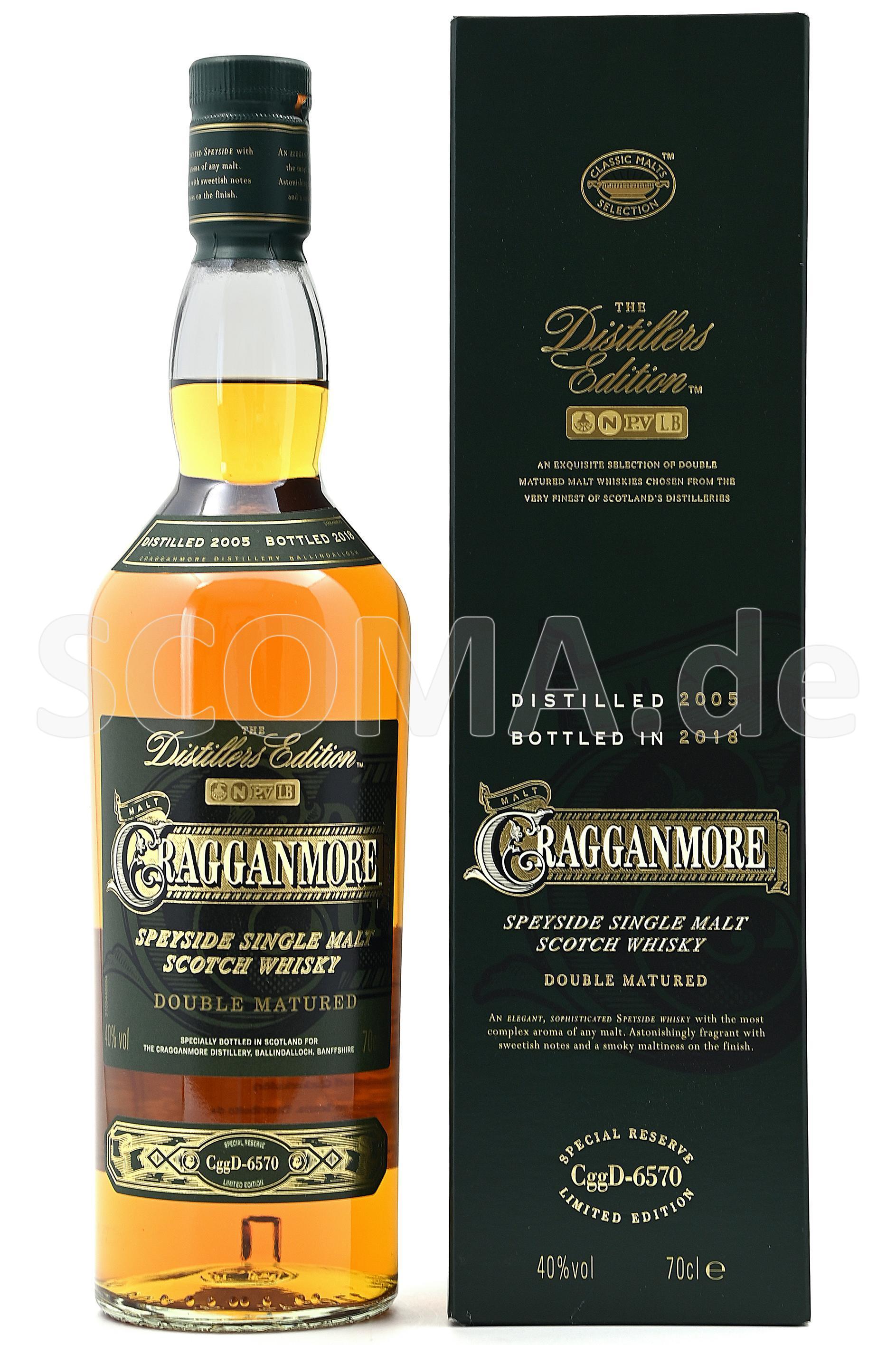Cragganmore Distillers Edition...