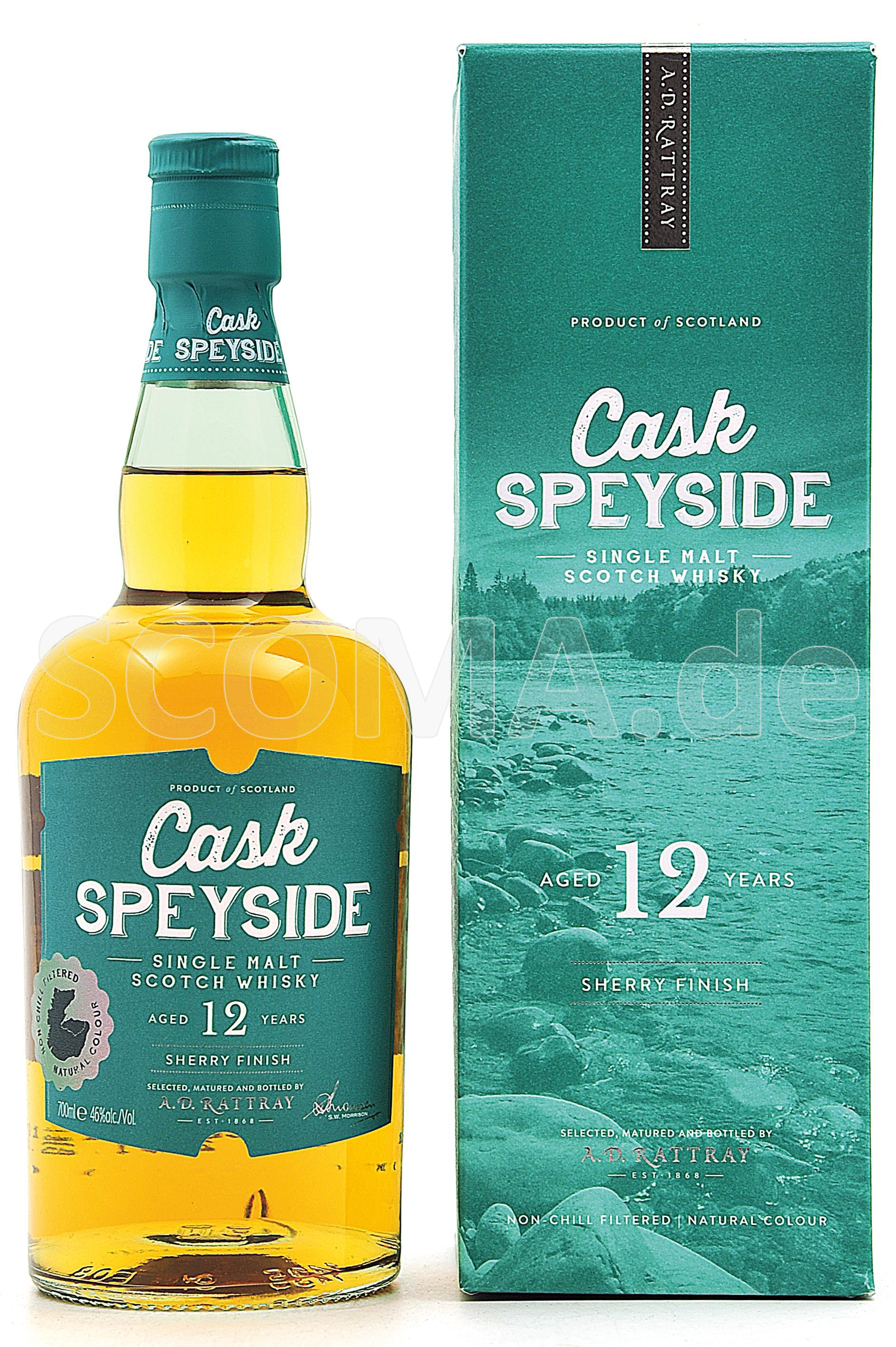 Cask Speyside 12 Jahre Sherry ...