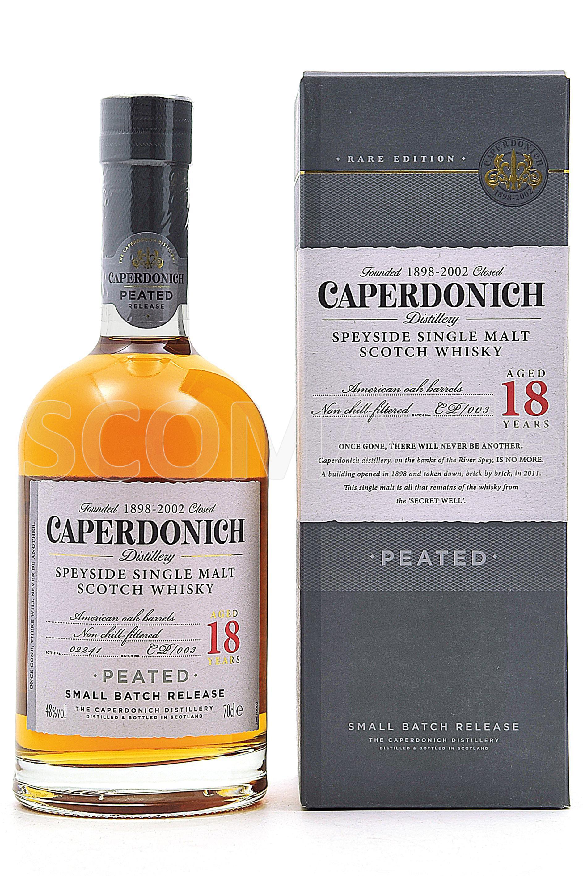 Caperdonich 18 Jahre Peated