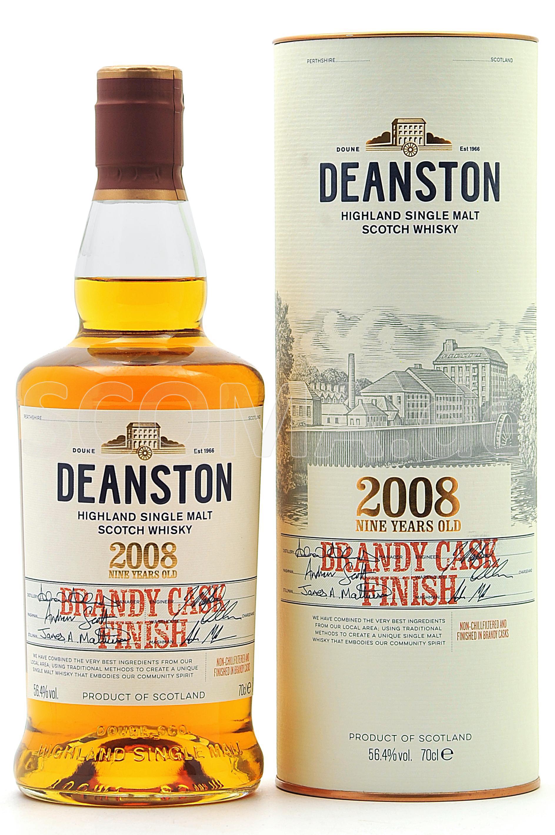 Deanston 2008/2018 9 Jahre Bra...