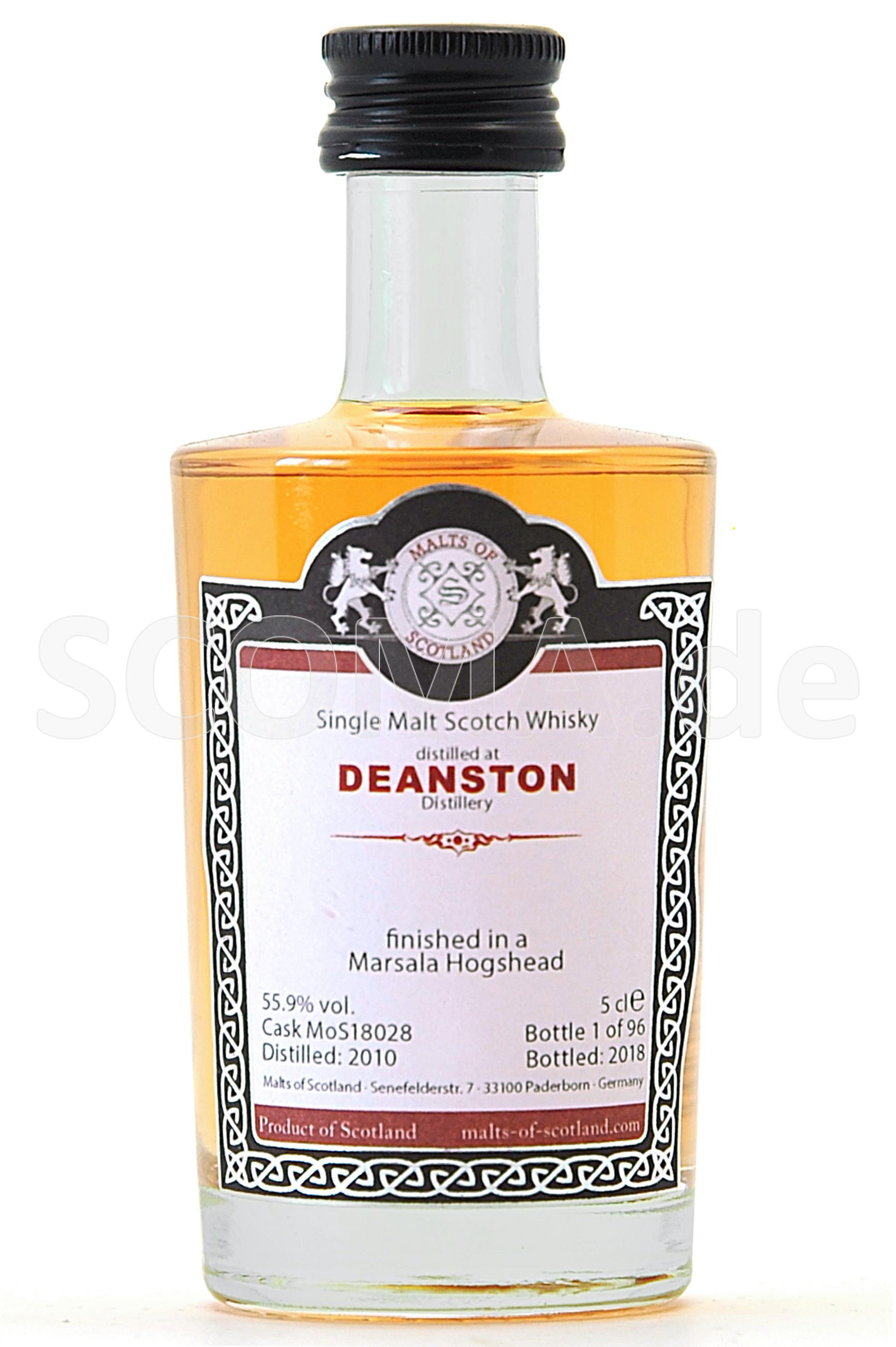 Deanston 2010/2018 Marsala Cas...