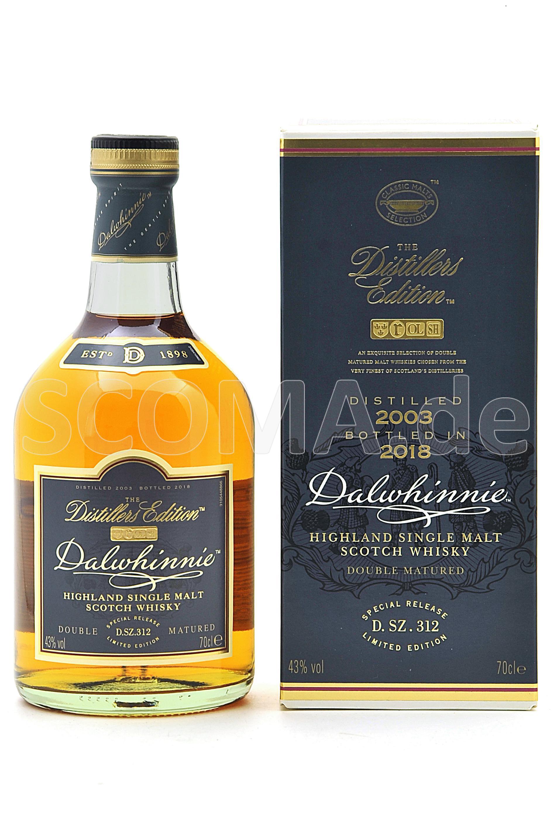 Dalwhinnie Distillers Edition ...