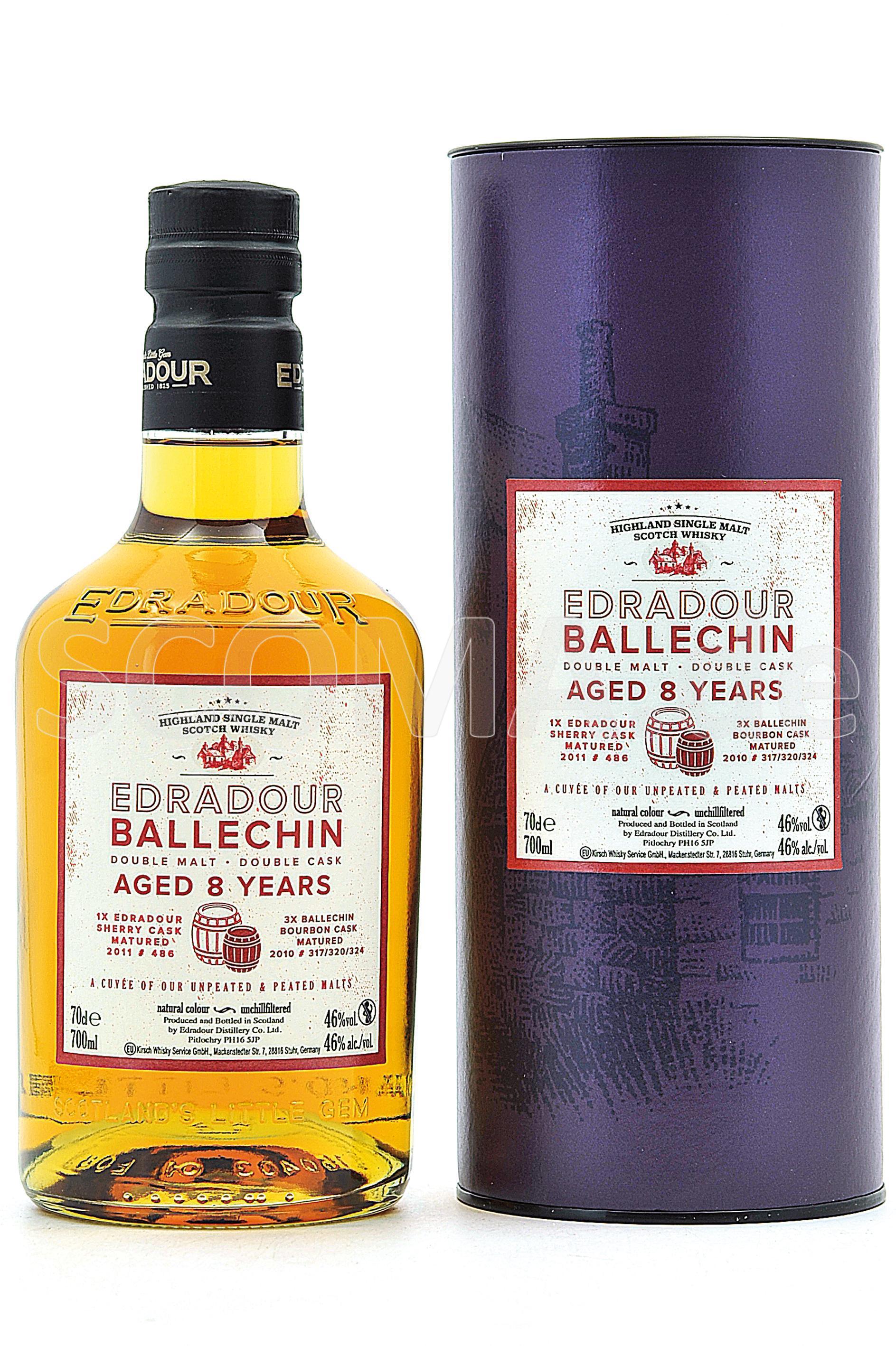 Edradour-Ballechin Cuvee 8 yea...