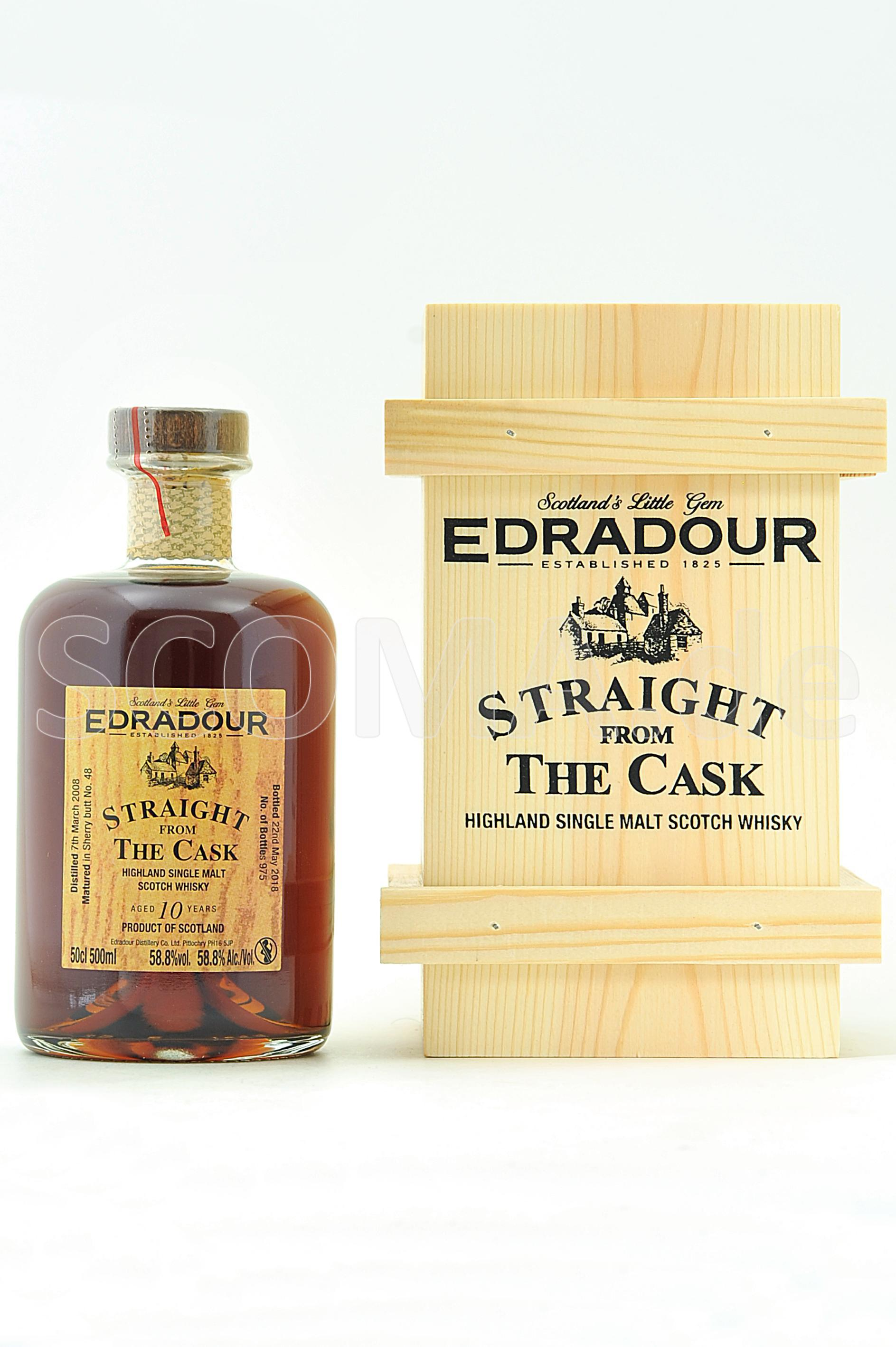 Edradour 2008/2018 10 Jahre Sh...