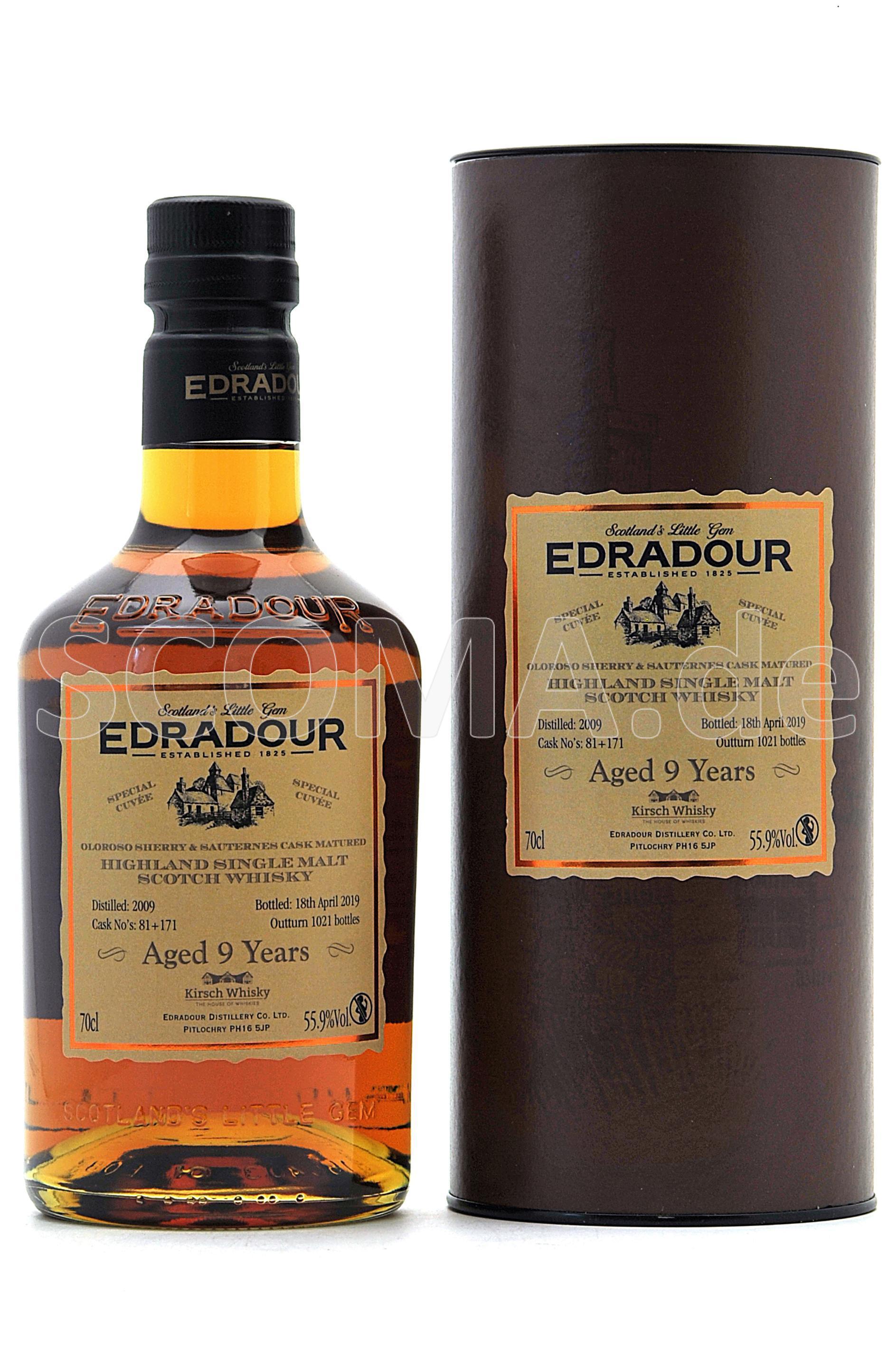 Edradour 2009/2019 9 Jahre Olo...