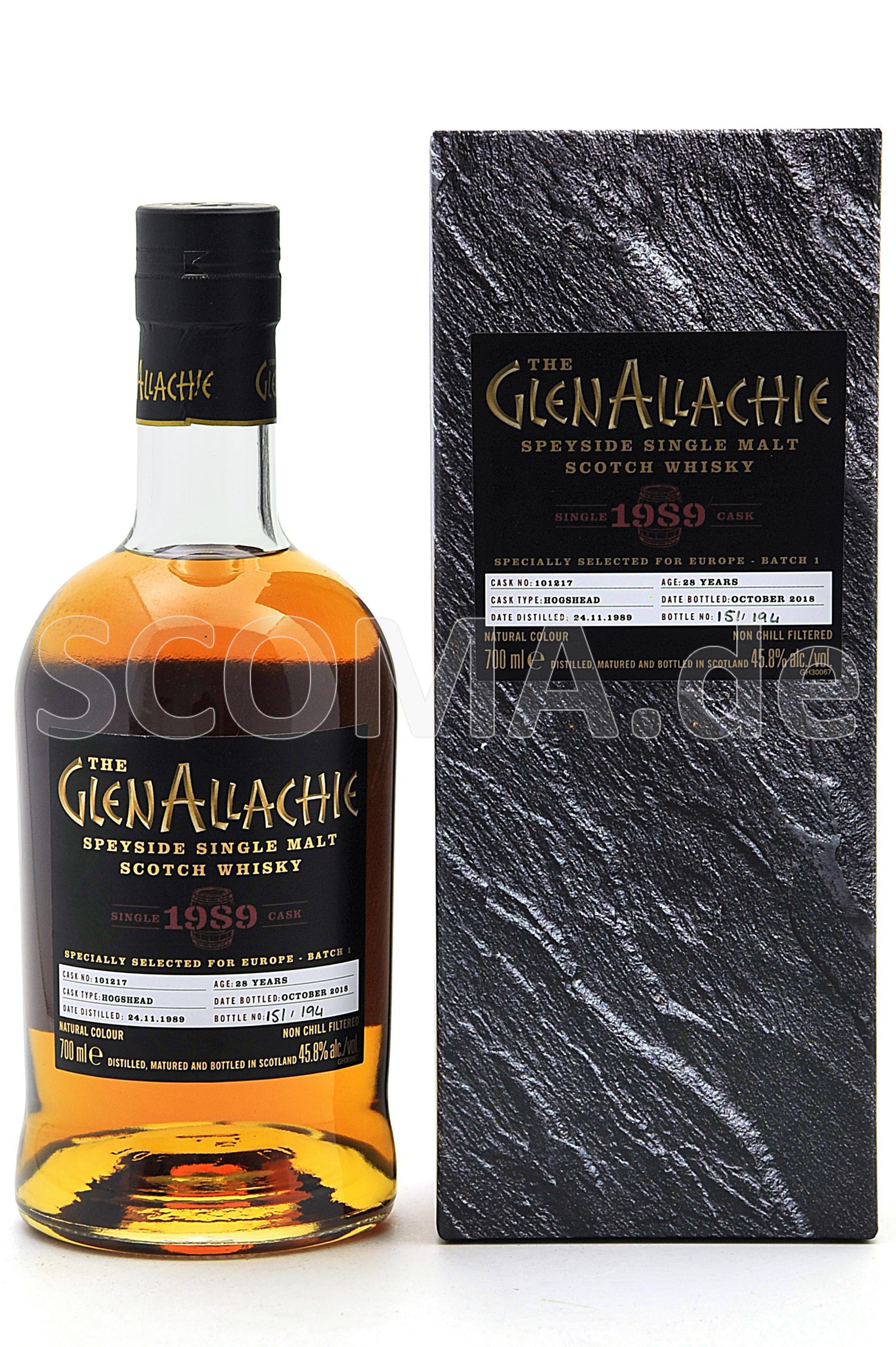 GlenAllachie 1989/2018 28 Jahr...