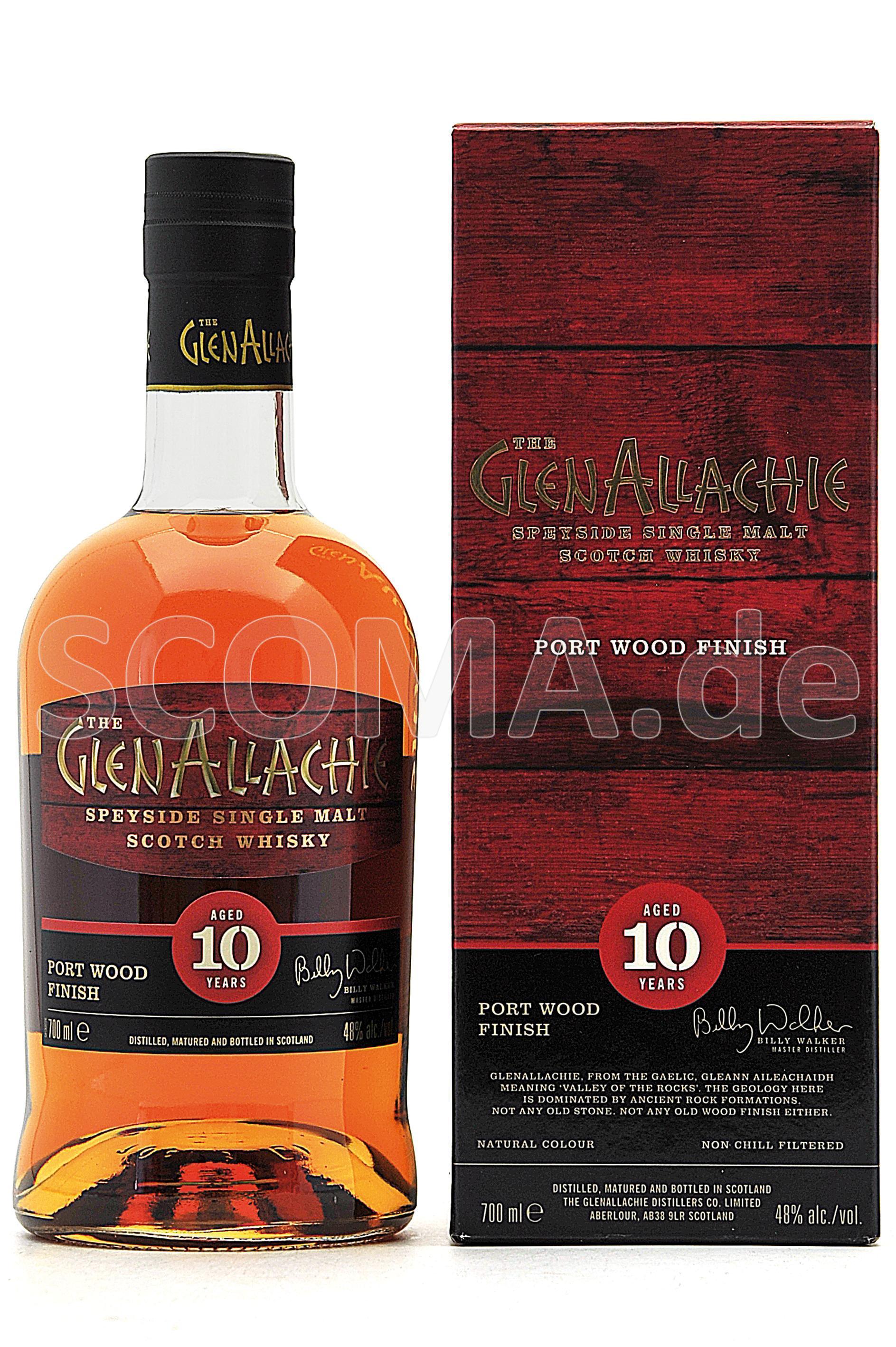GlenAllachie 10 Jahre Port Woo...