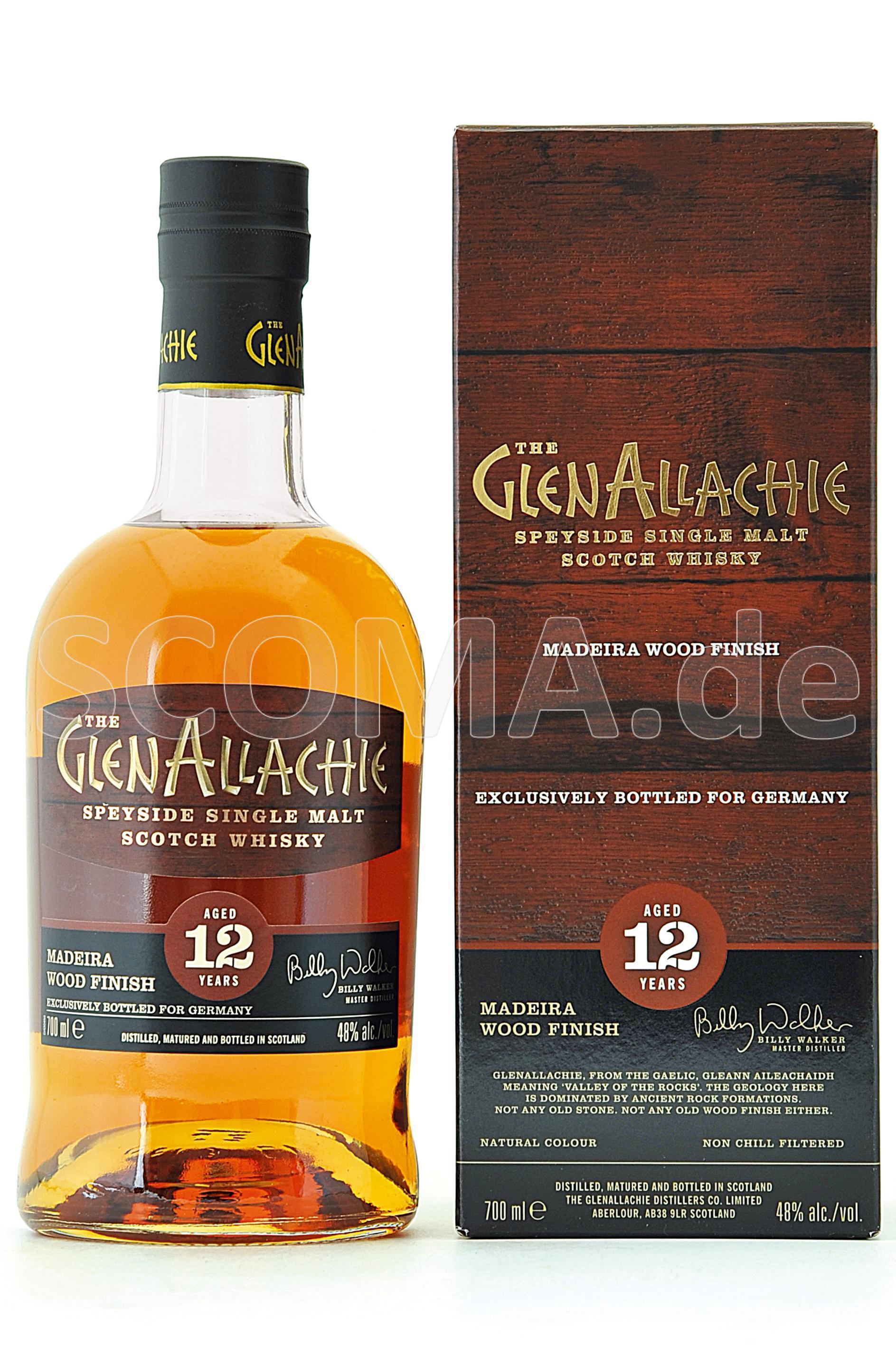 GlenAllachie 12 Jahre Madeira ...