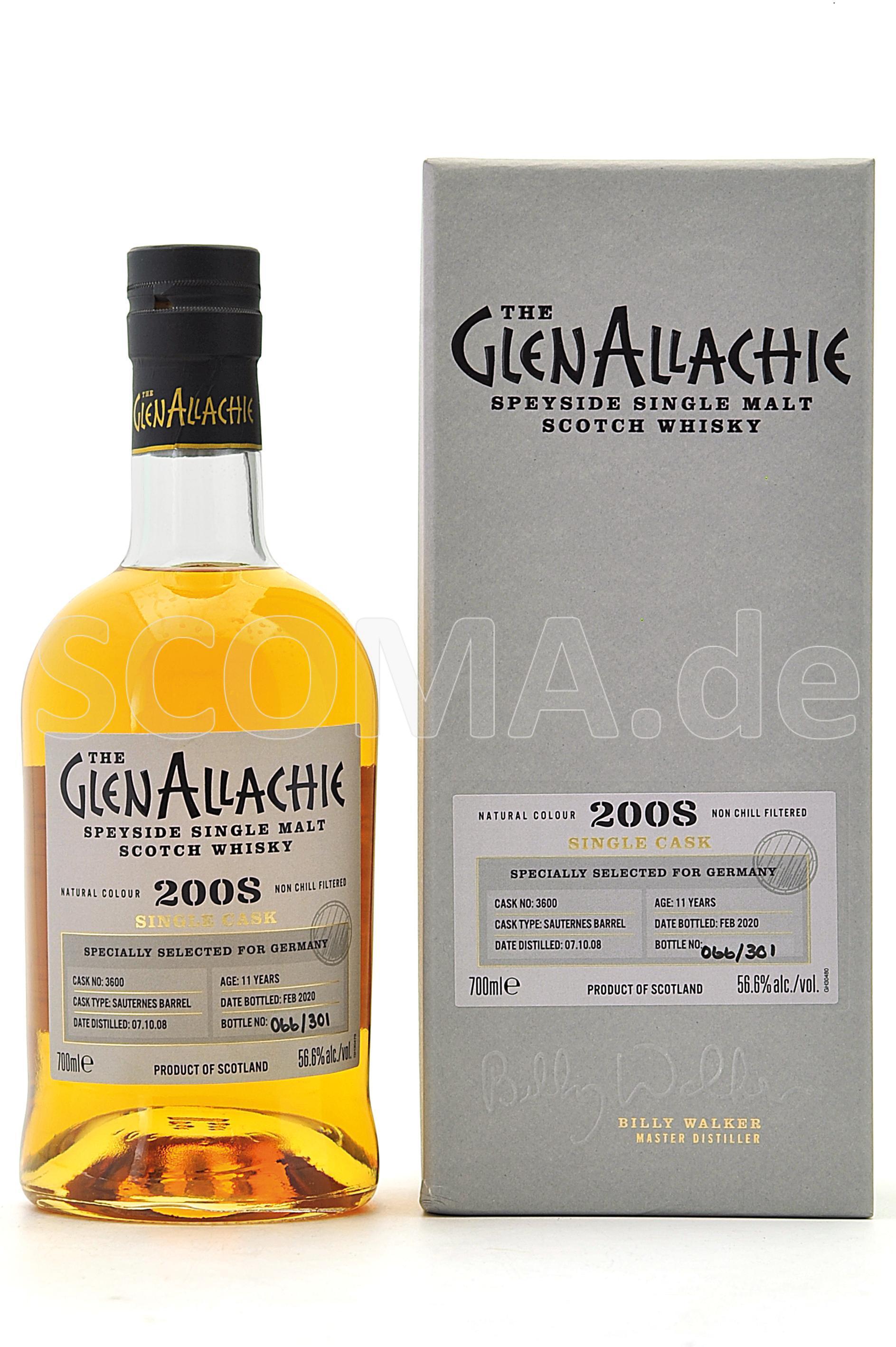 GlenAllachie 2008/2020 11 Jahr...