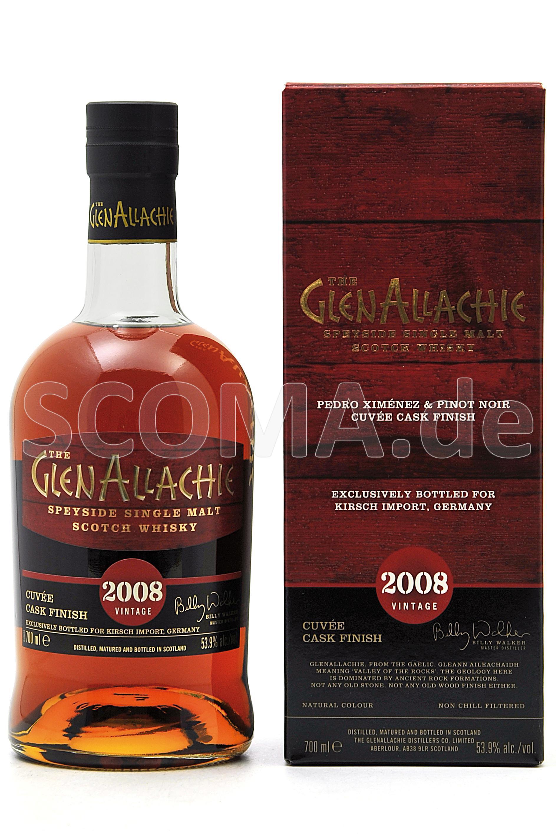 GlenAllachie 2008/2020 PX & Pi...
