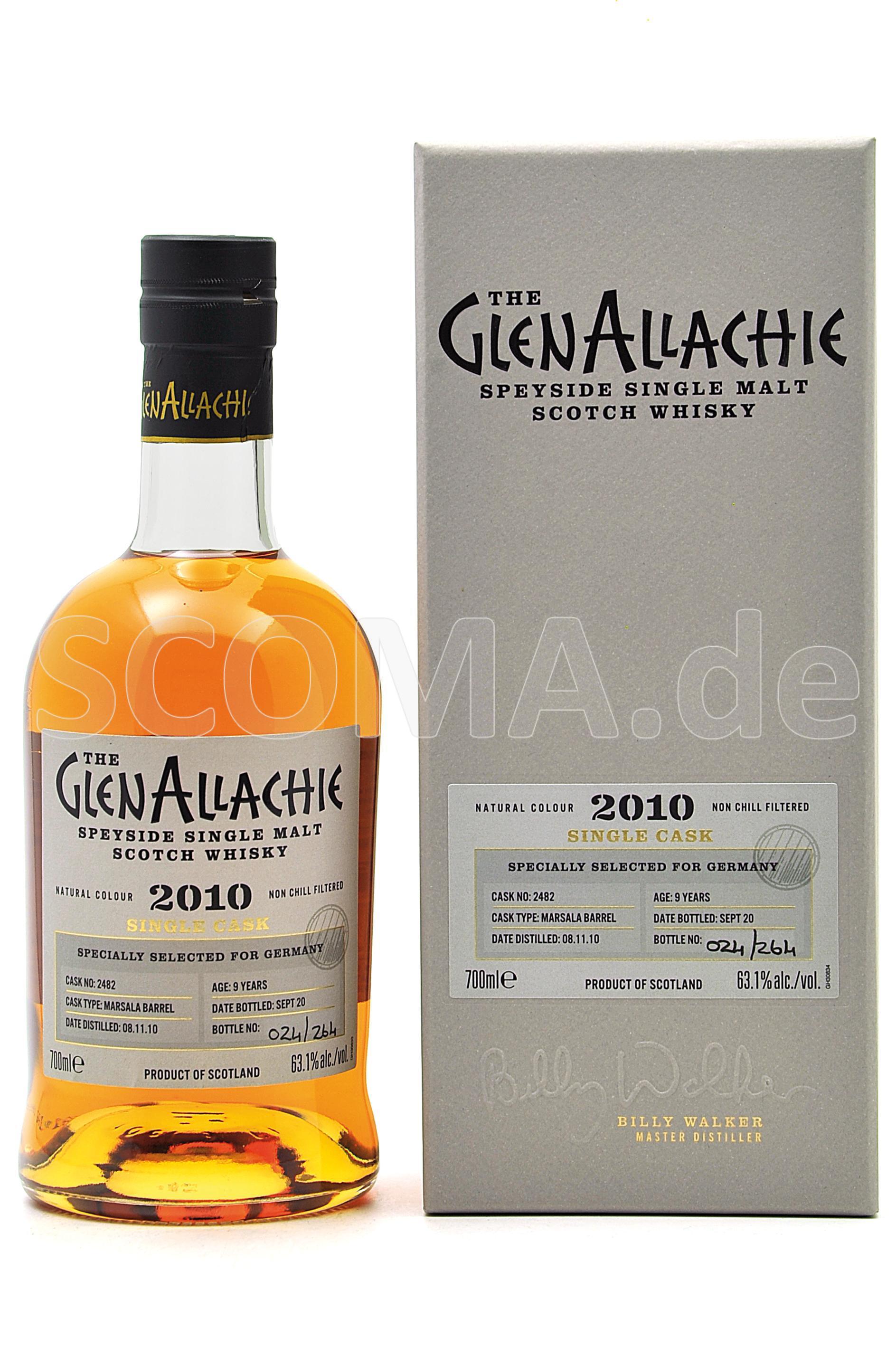 GlenAllachie 2010/2020 9 Jahre