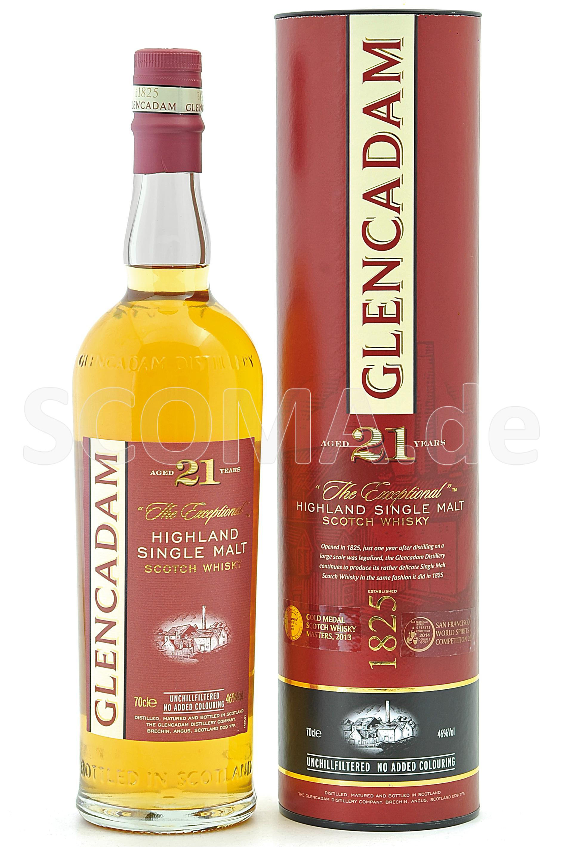 Glencadam 21 Jahre